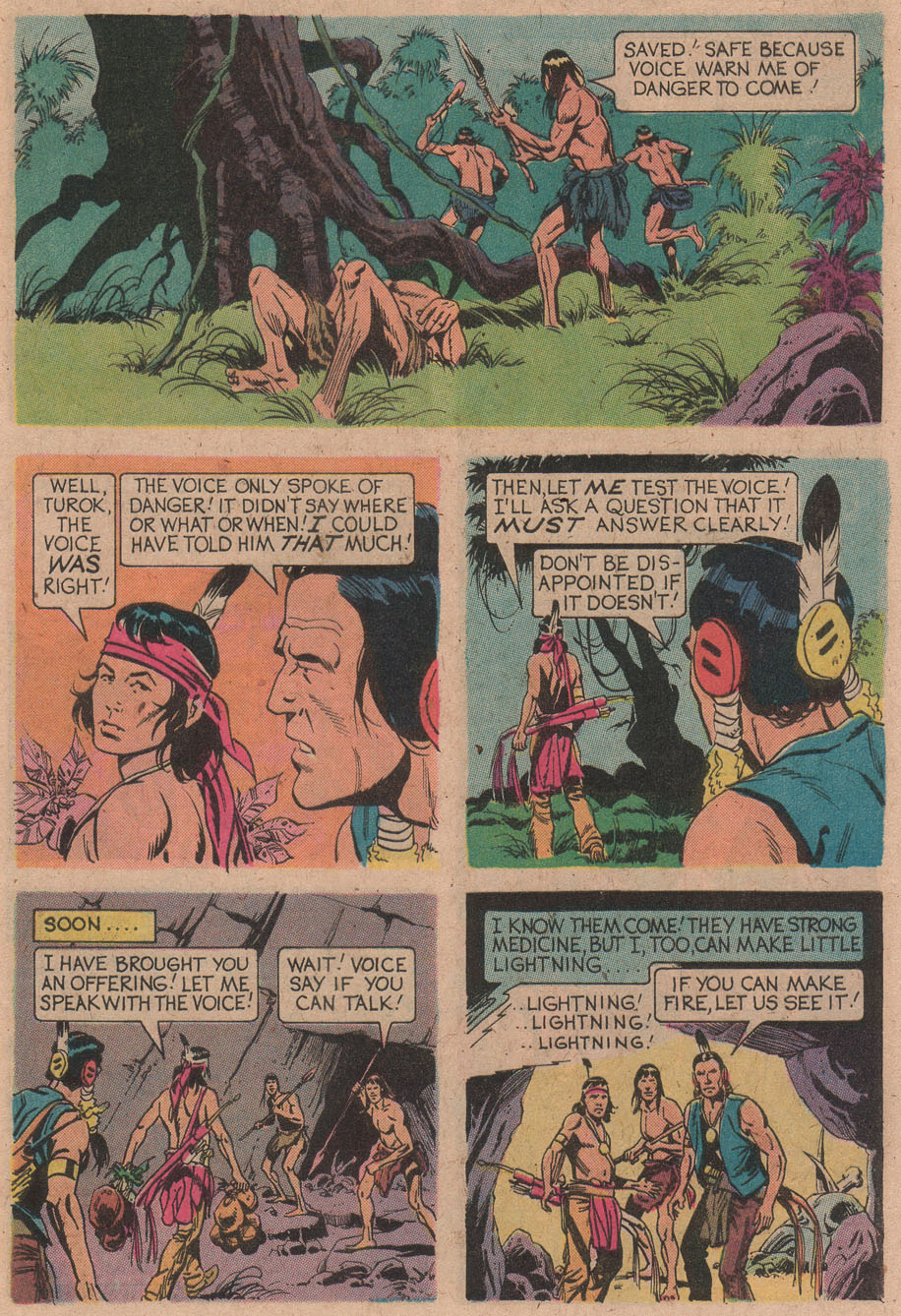 Read online Turok, Son of Stone comic -  Issue #91 - 9