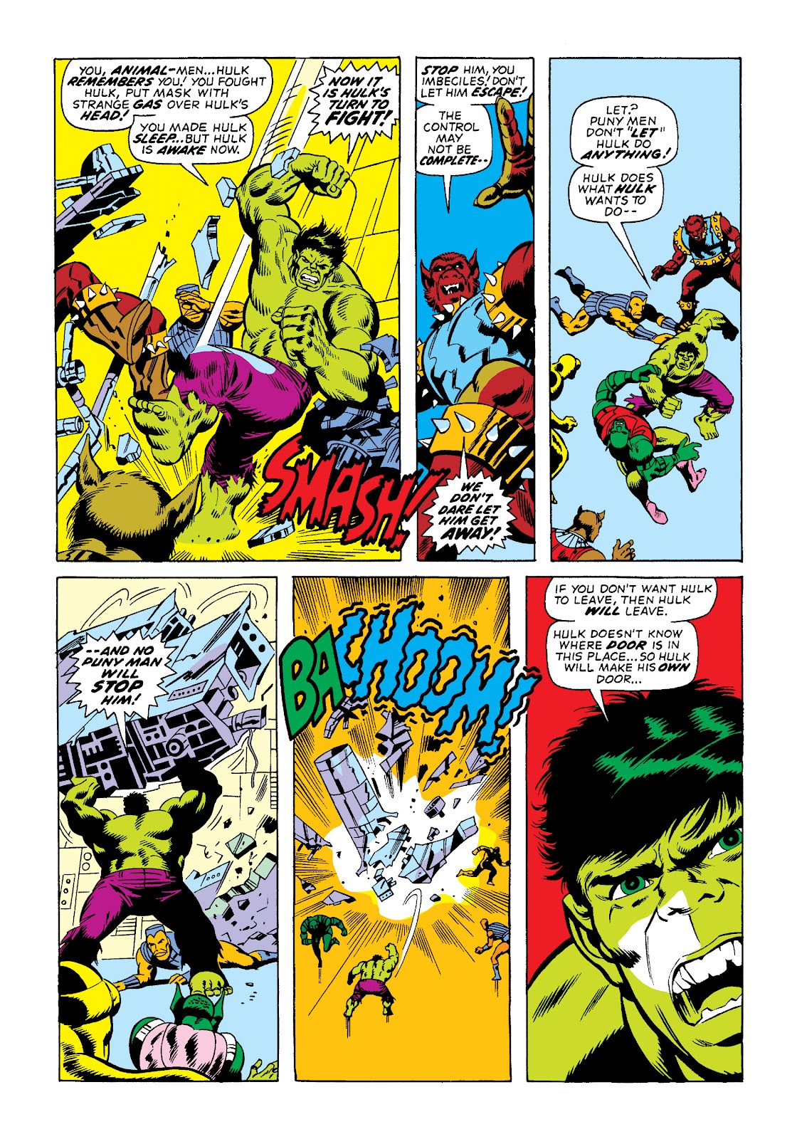 Read online Marvel Masterworks: The Incredible Hulk comic -  Issue # TPB 10 (Part 2) - 33