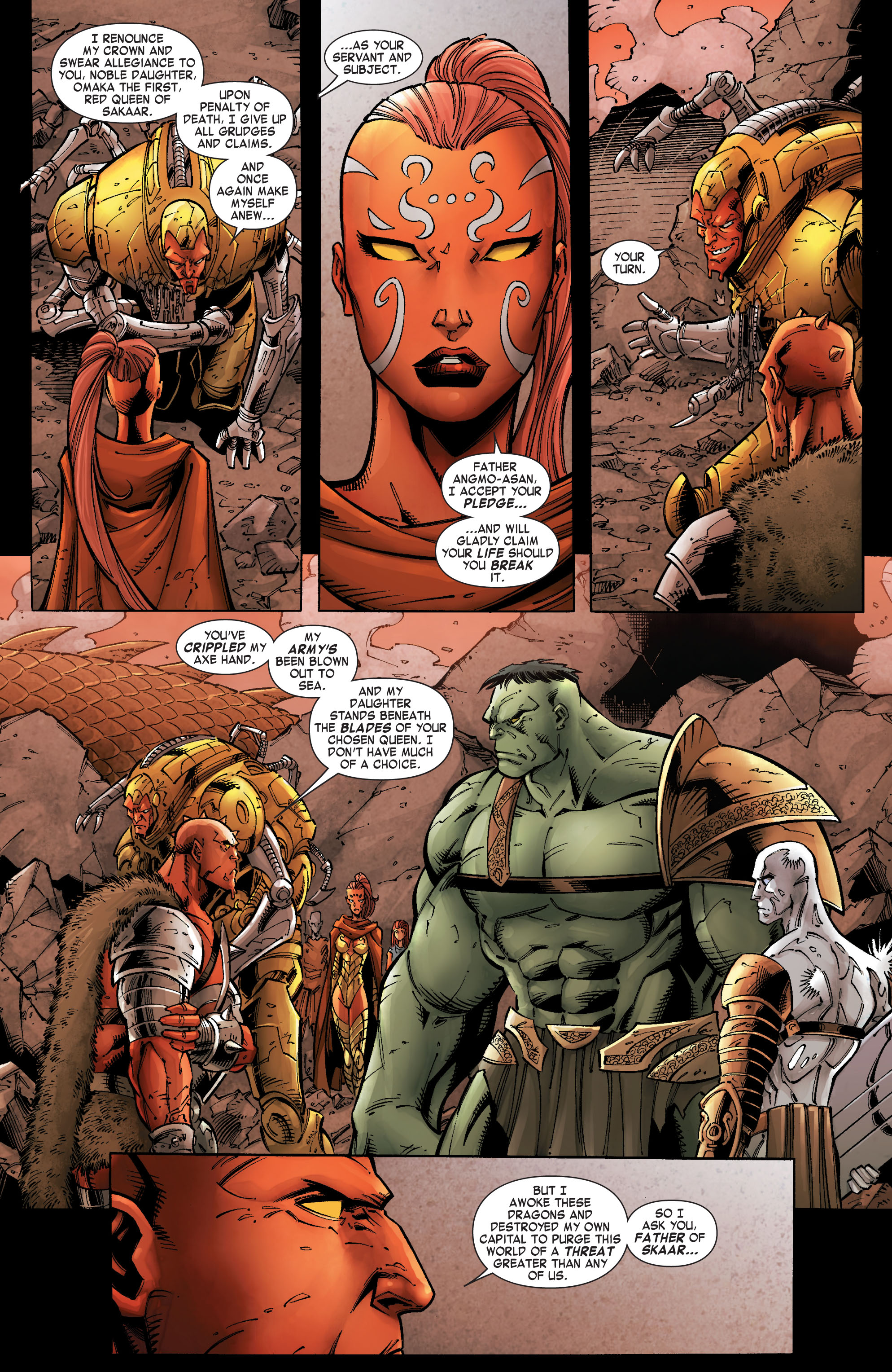 Read online Skaar: Son of Hulk comic -  Issue #9 - 14