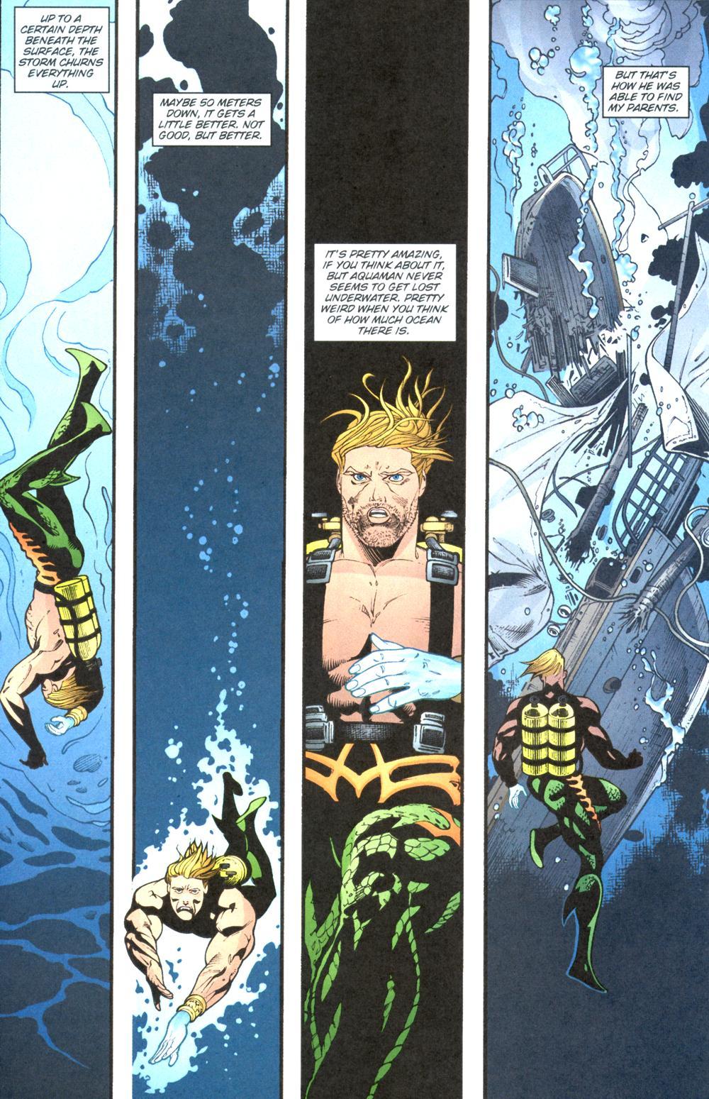Read online Aquaman (2003) comic -  Issue #13 - 20