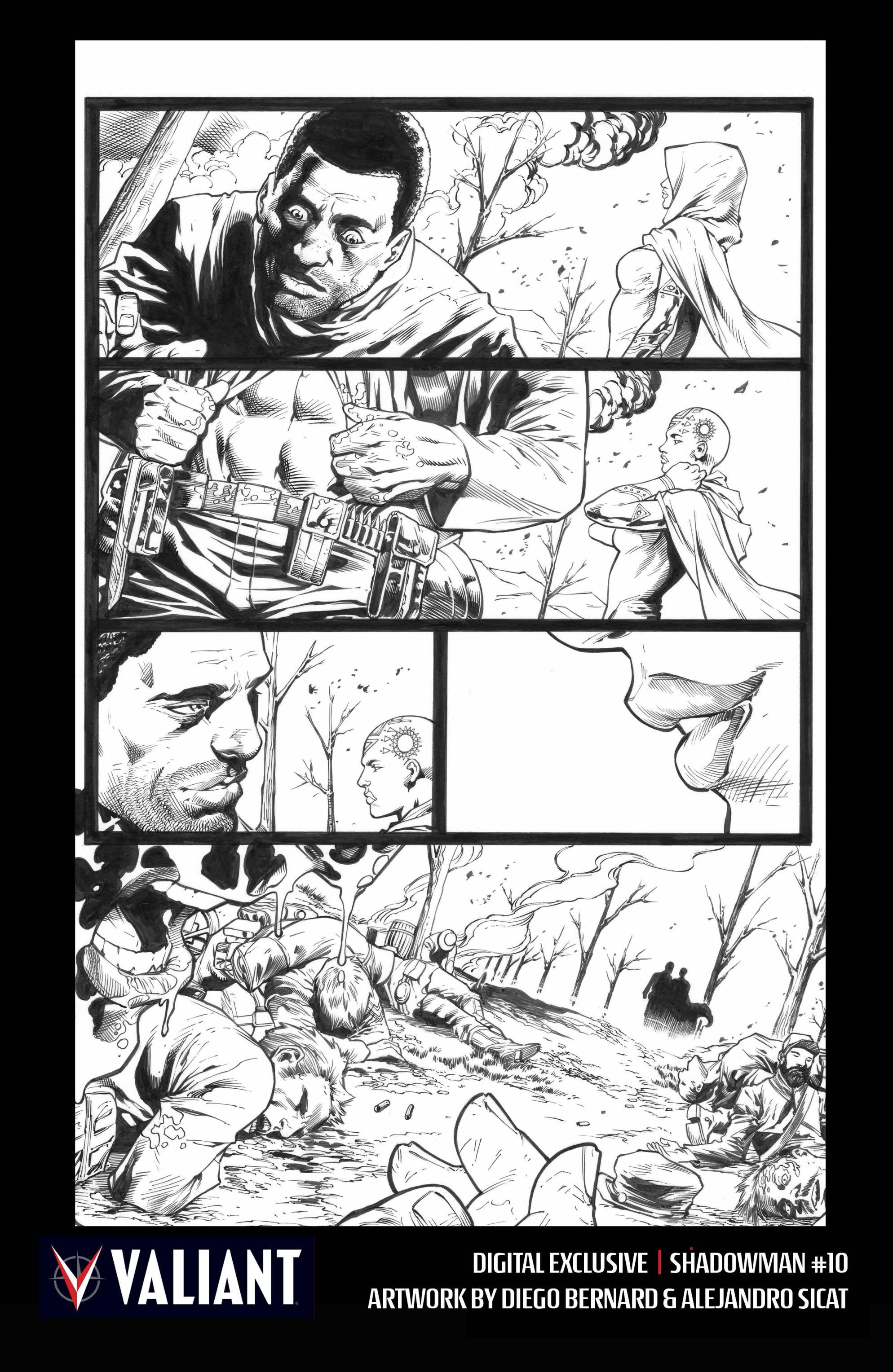 Read online Shadowman (2012) comic -  Issue #10 - 31