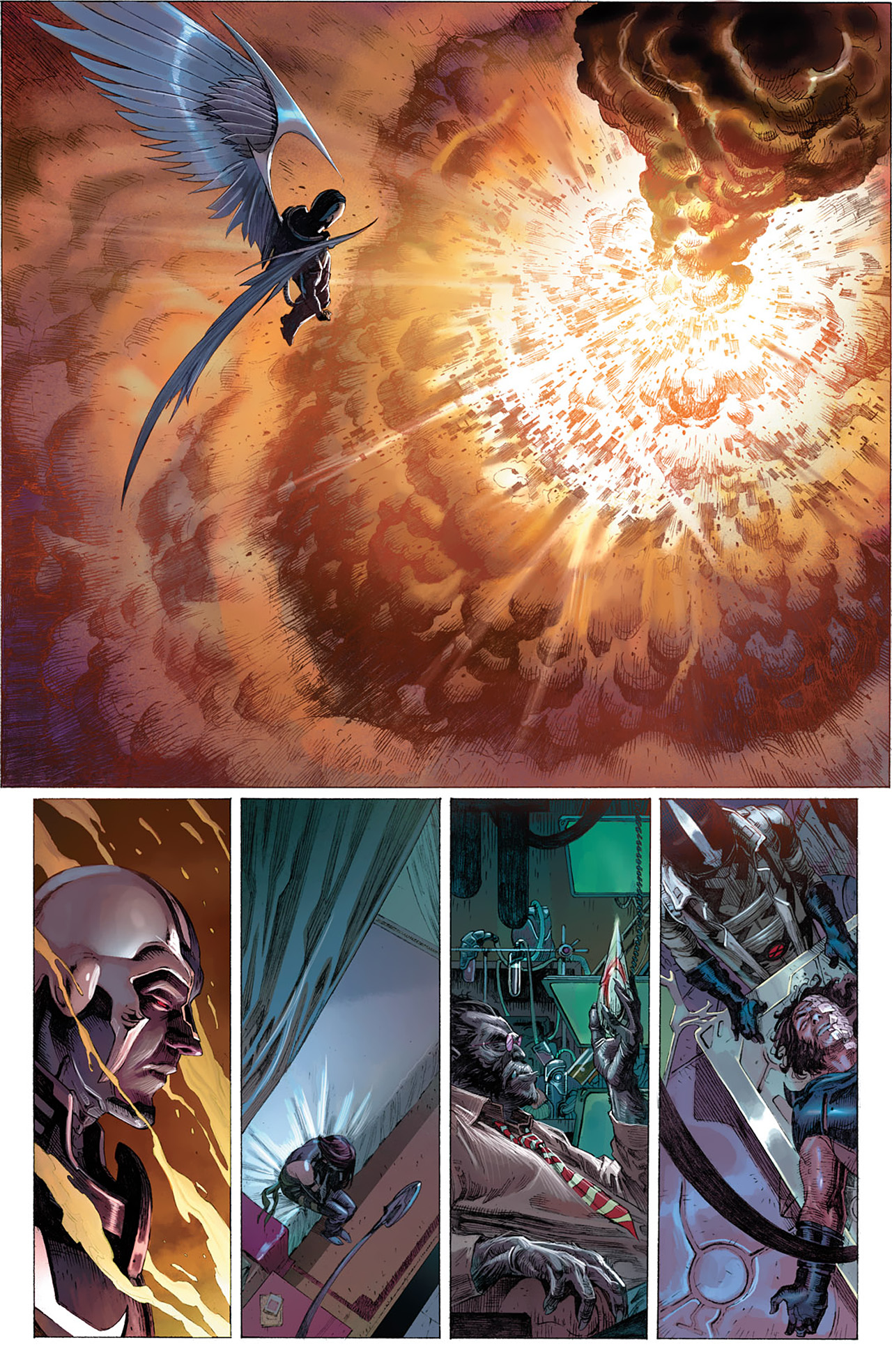 Read online Uncanny X-Force (2010) comic -  Issue #14 - 22