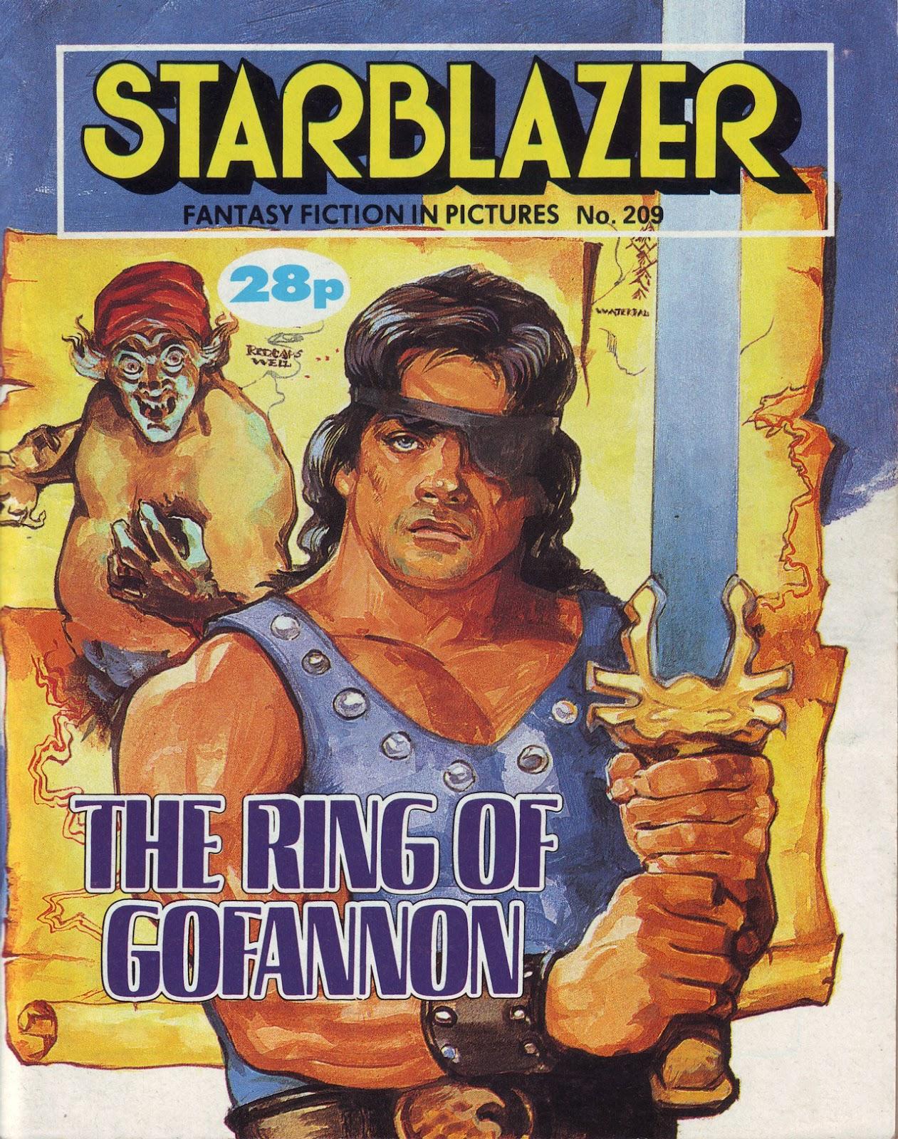 Starblazer issue 209 - Page 1
