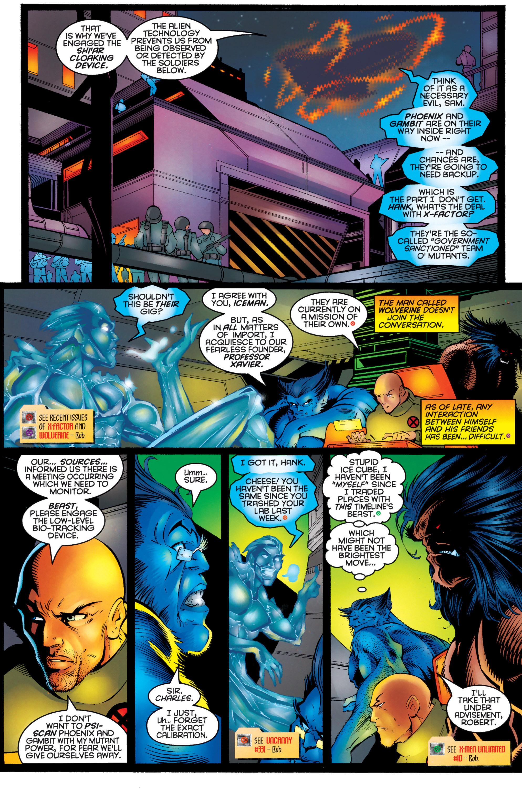 Read online Uncanny X-Men (1963) comic -  Issue #333 - 5