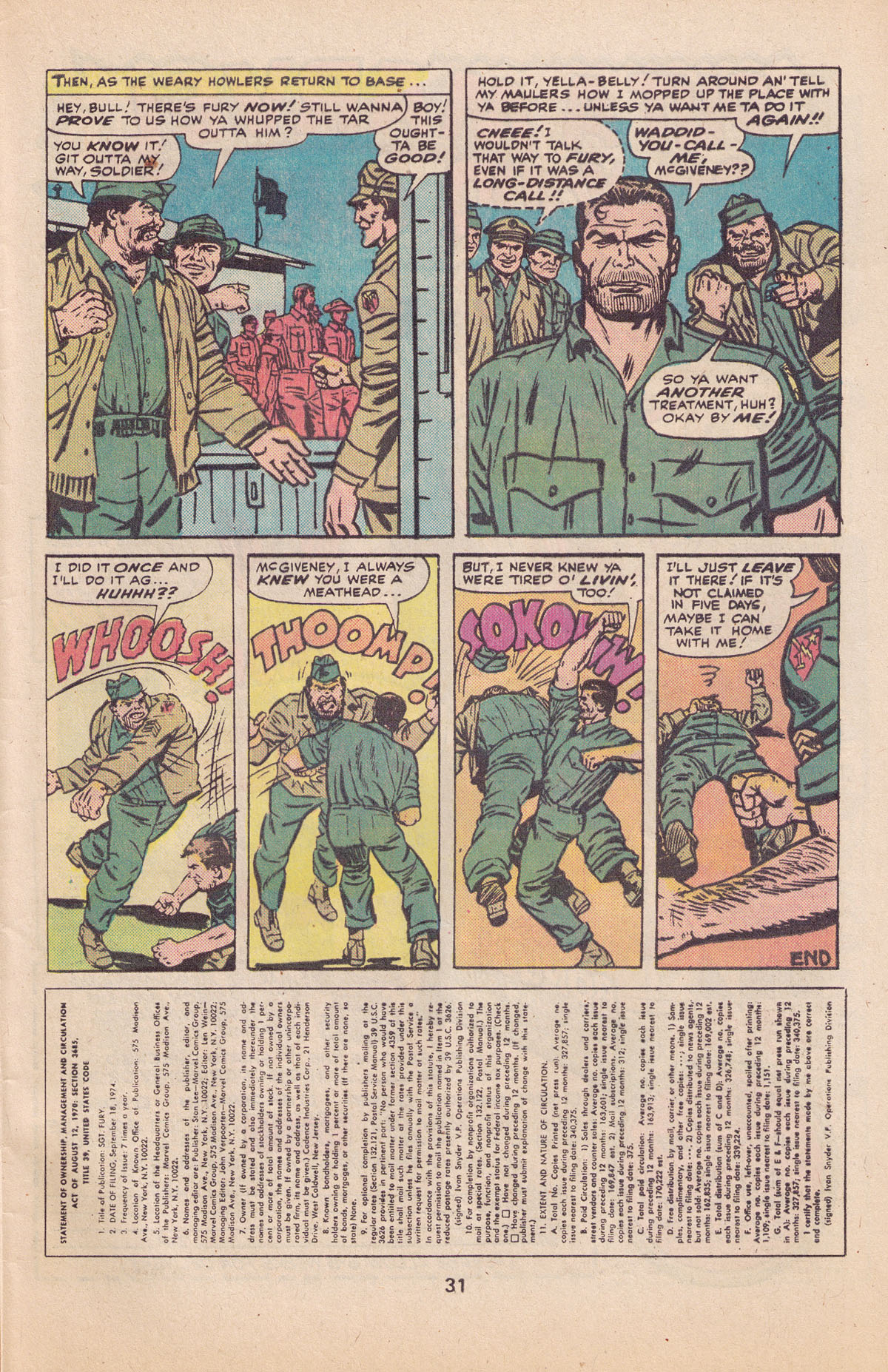 Read online Sgt. Fury comic -  Issue #127 - 33