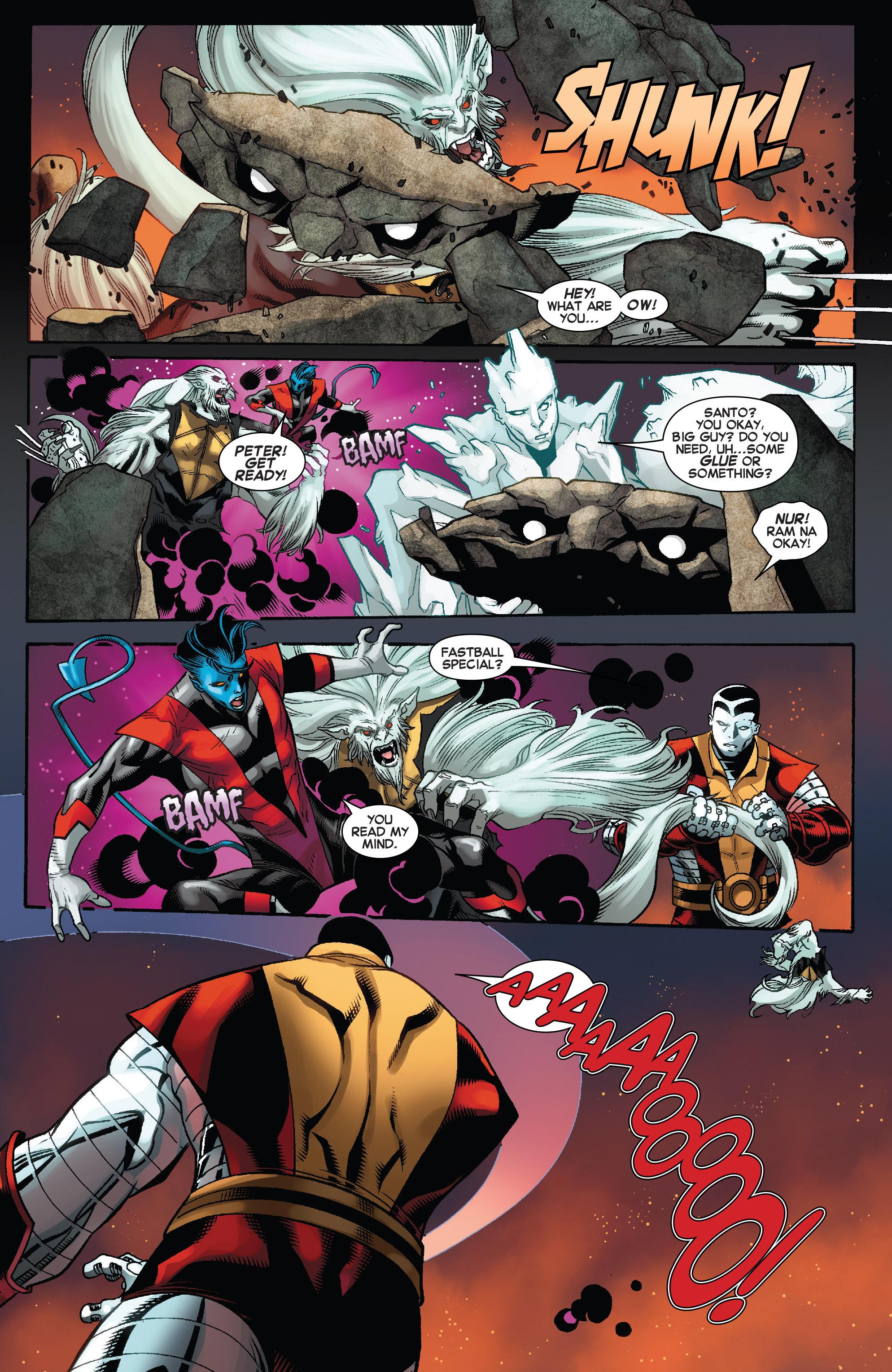 Read online Amazing X-Men (2014) comic -  Issue #10 - 14