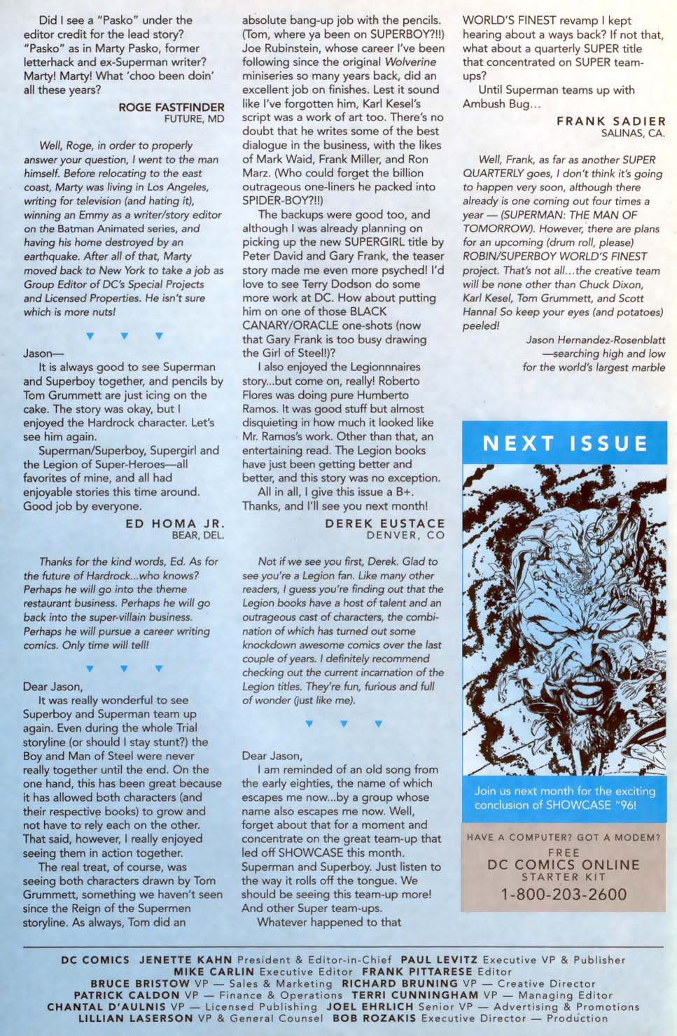 Read online Showcase '96 comic -  Issue #11 - 39