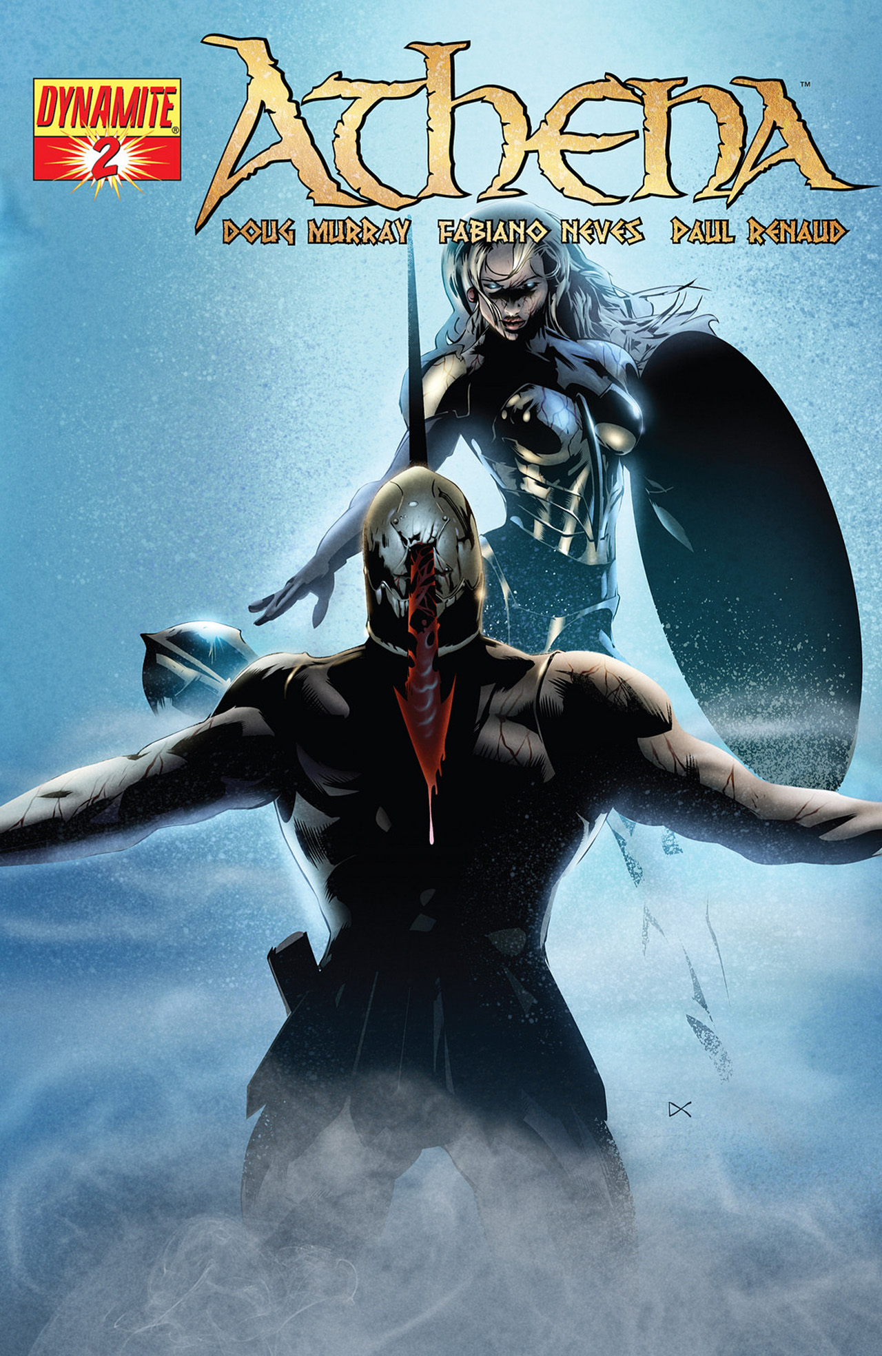 Read online Athena comic -  Issue #2 - 3