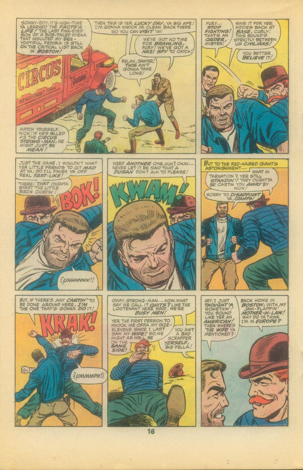 Read online Sgt. Fury comic -  Issue #136 - 18