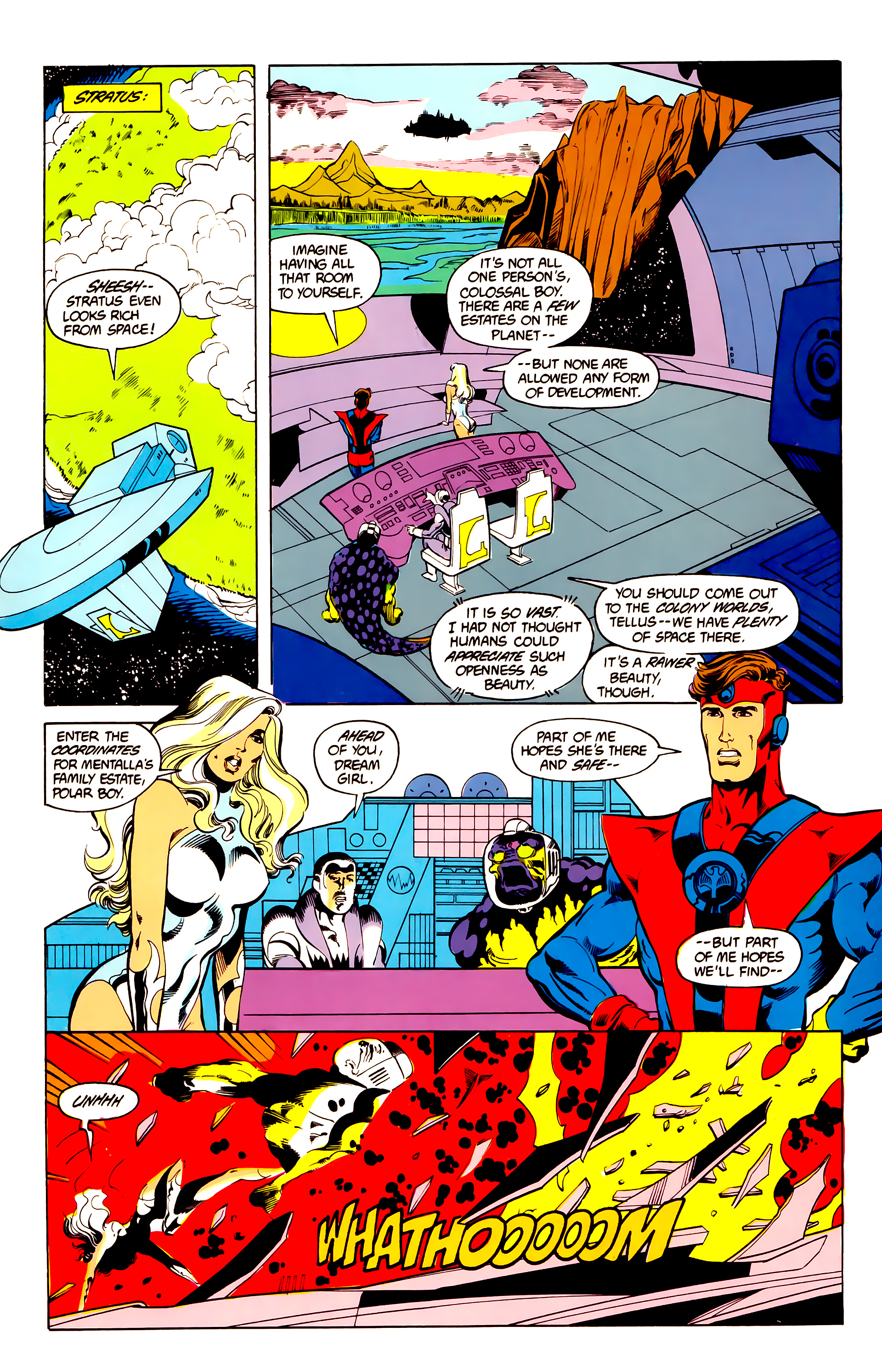 Legion of Super-Heroes (1984) 25 Page 18