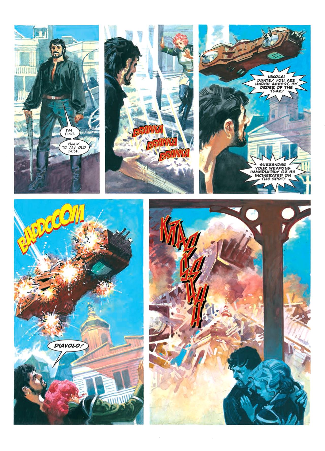 Read online Nikolai Dante comic -  Issue # TPB 9 - 118