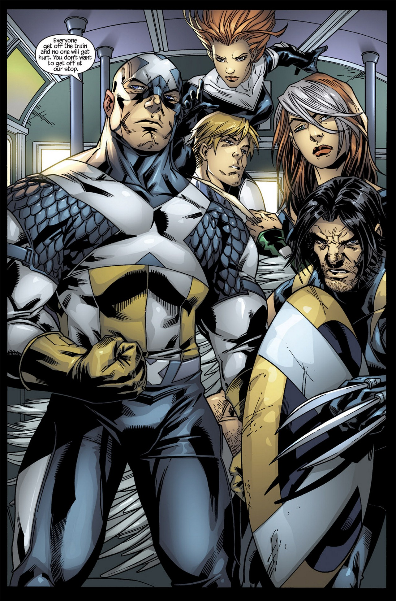 Read online Ultimate X-Men/Ultimate Fantastic Four Annual comic -  Issue # Full - 4