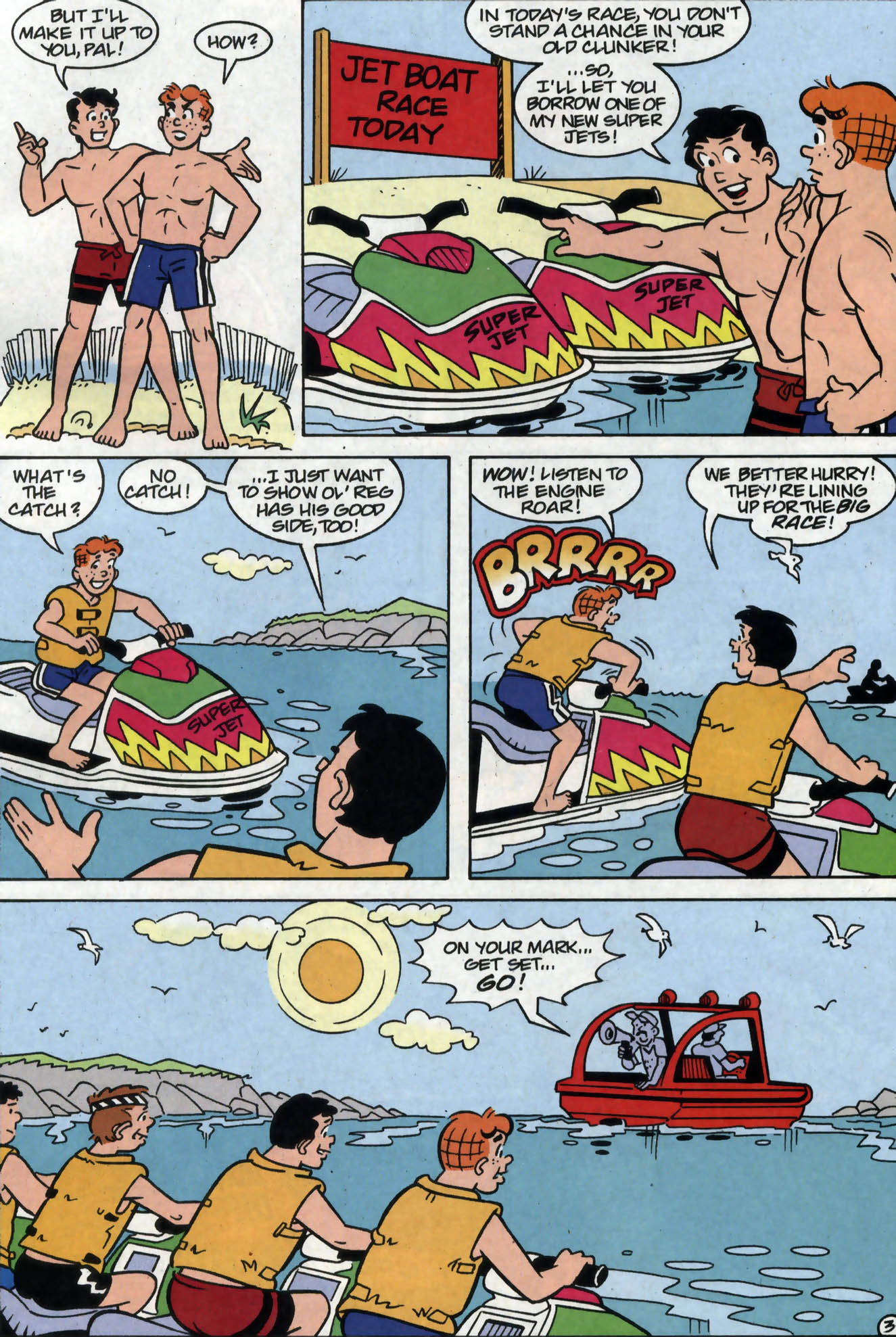 Read online Archie (1960) comic -  Issue #558 - 4