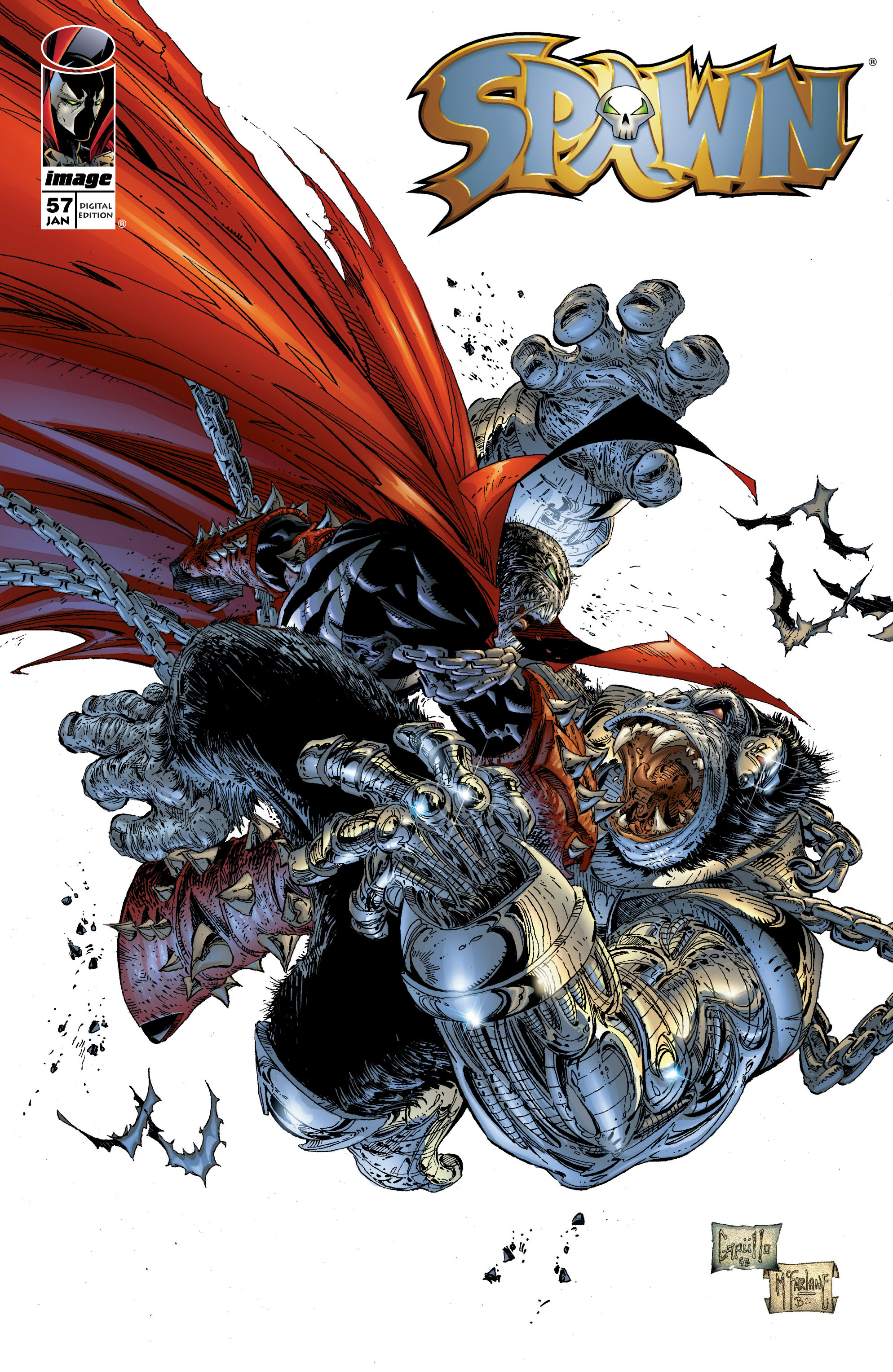 Spawn 57 Page 1