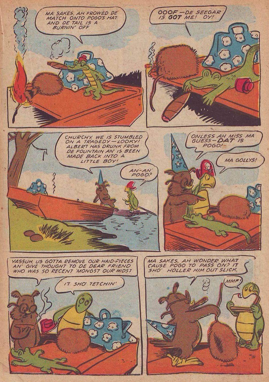 Read online Animal Comics comic -  Issue #21 - 21