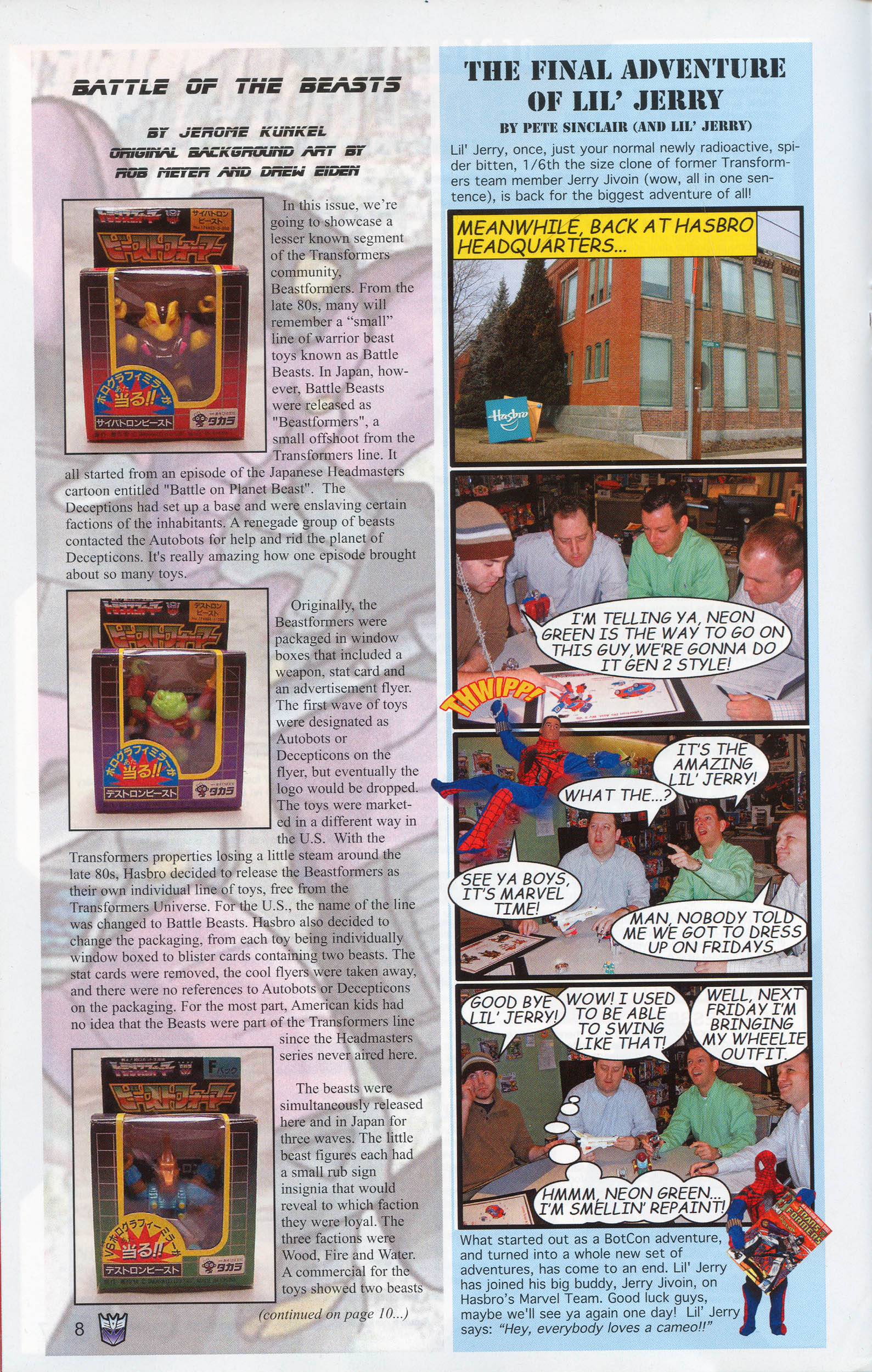 Read online Transformers: Collectors' Club comic -  Issue #9 - 8