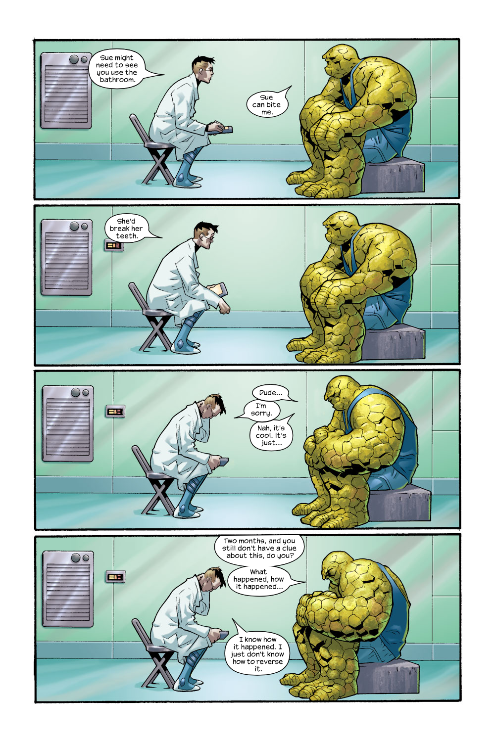 Read online Ultimate Fantastic Four (2004) comic -  Issue #8 - 9