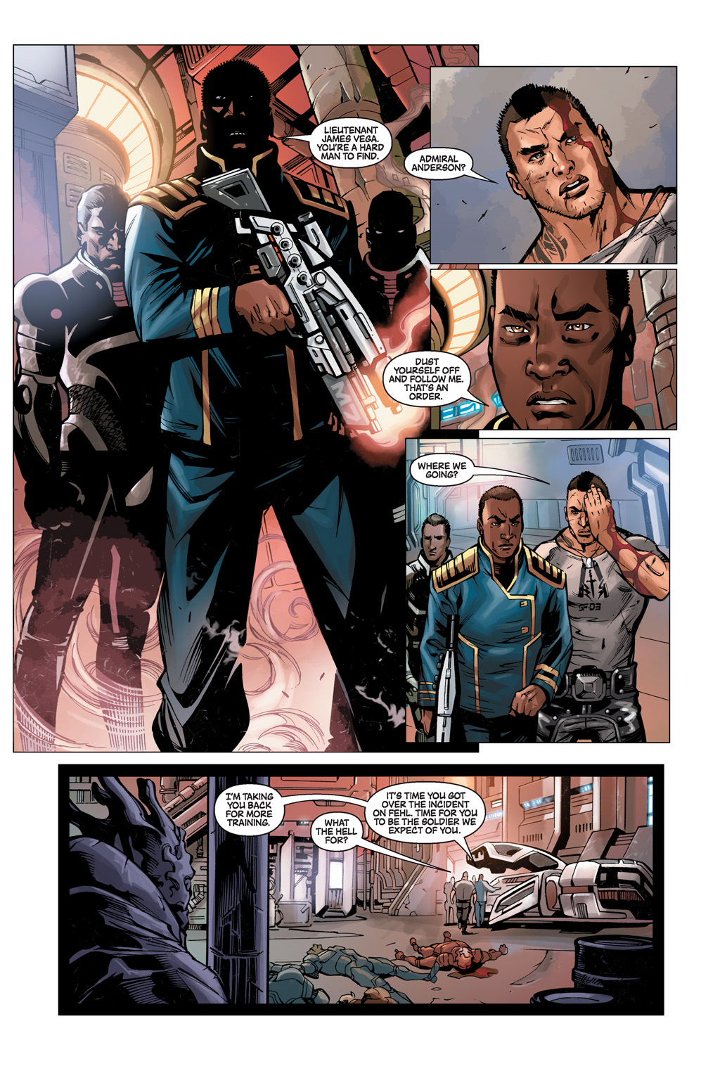 Read online Mass Effect: Conviction comic -  Issue # Full - 9