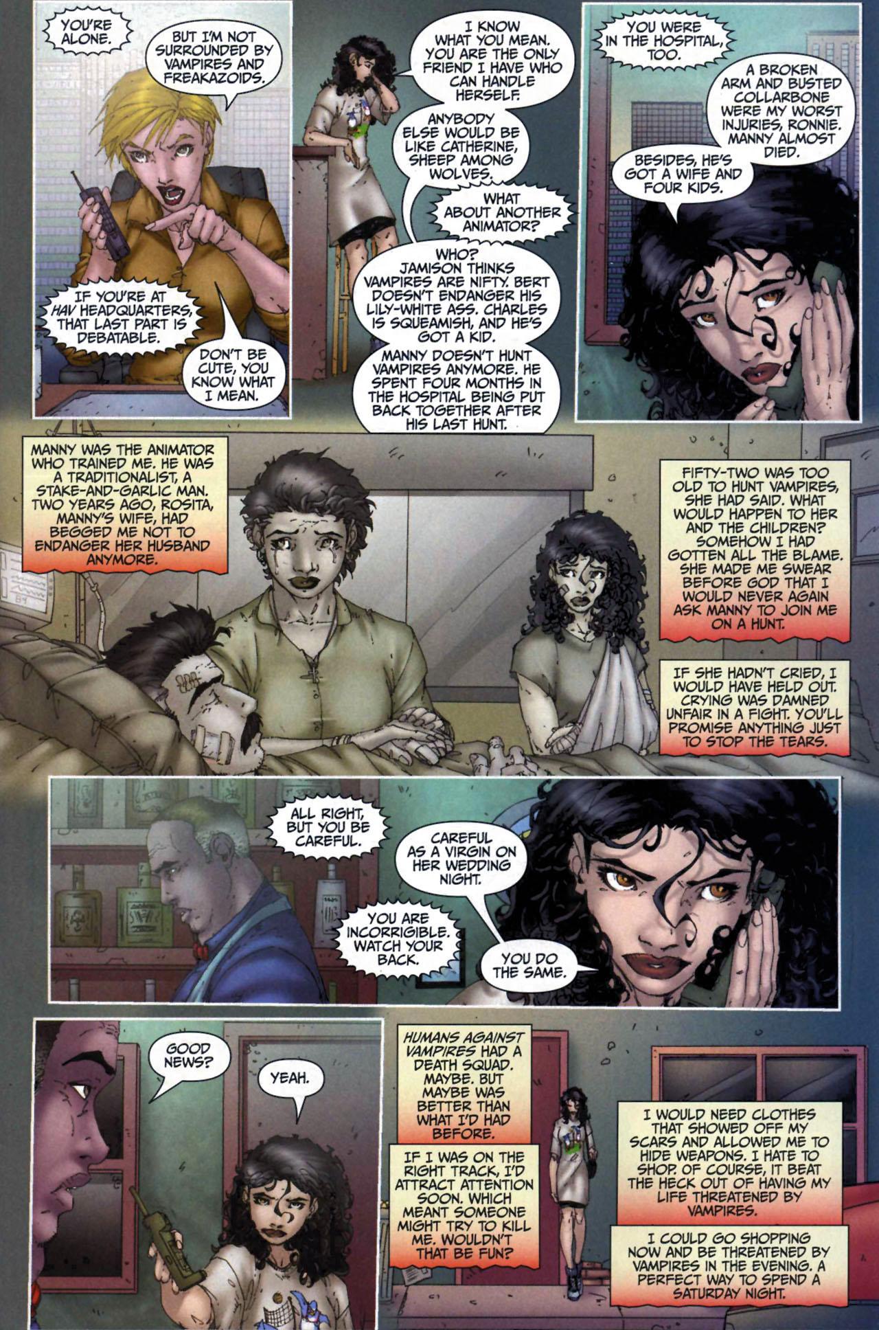 Read online Anita Blake, Vampire Hunter: Guilty Pleasures comic -  Issue #6 - 7