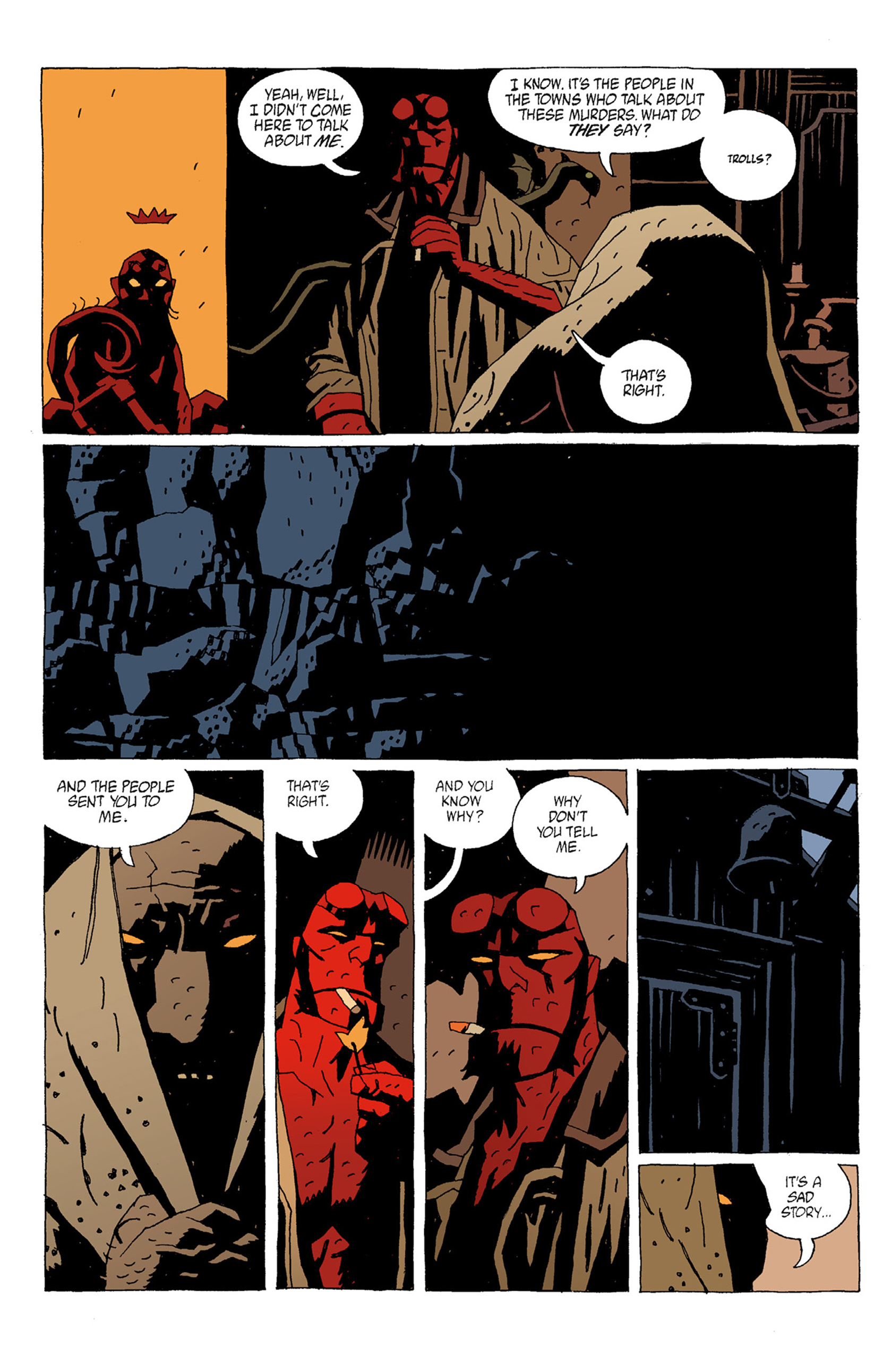 Read online Hellboy: The Troll Witch and Others comic -  Issue # TPB - 28