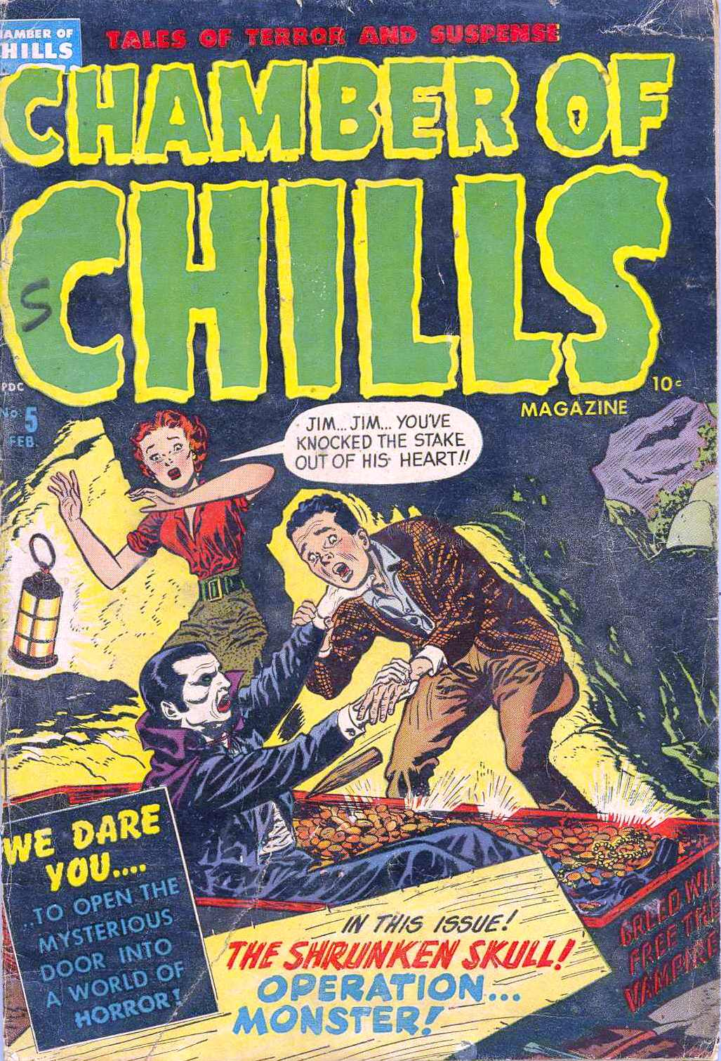 Chamber of Chills (1951) 5 Page 1