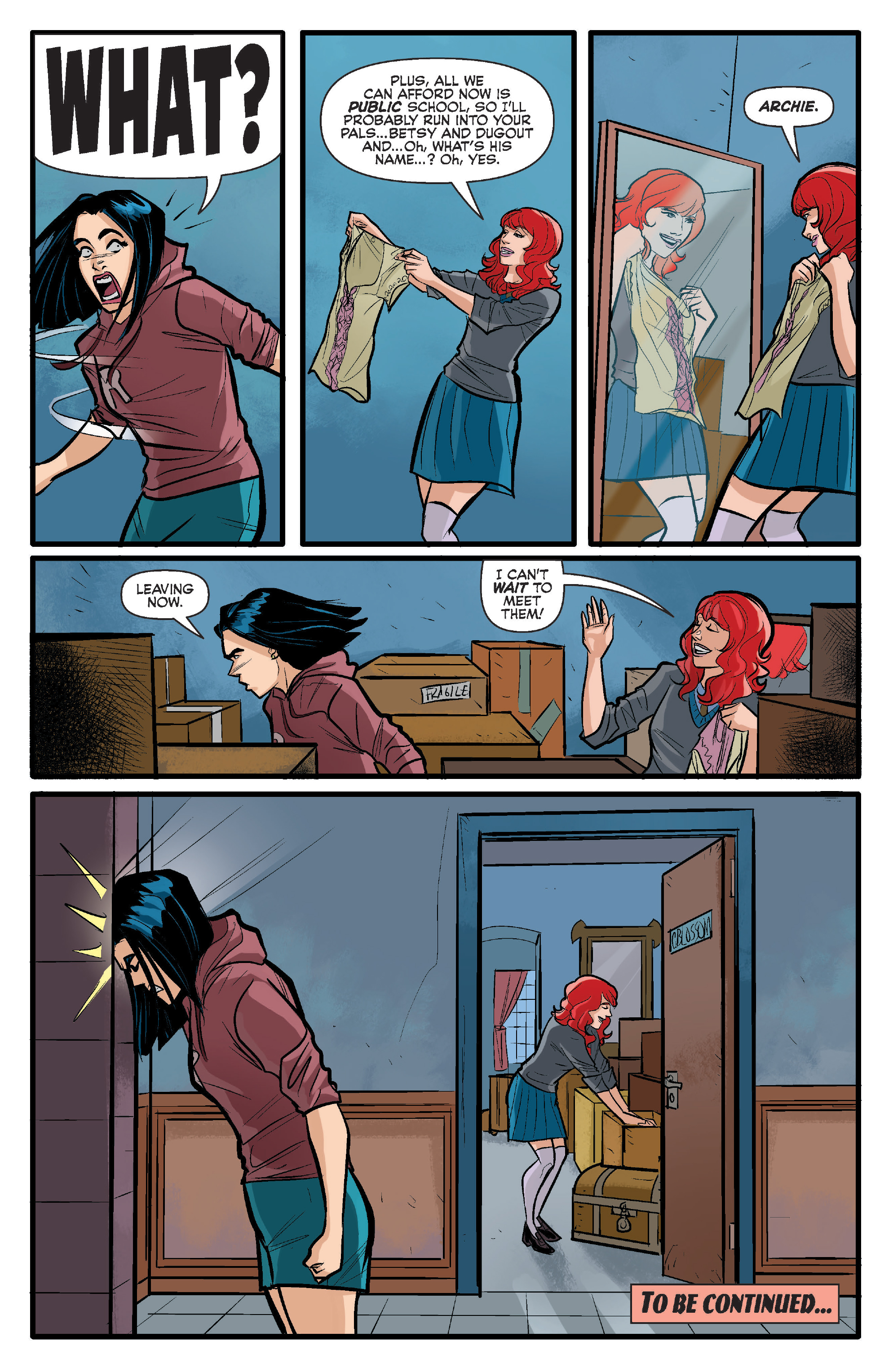 Read online Archie (2015) comic -  Issue #15 - 22