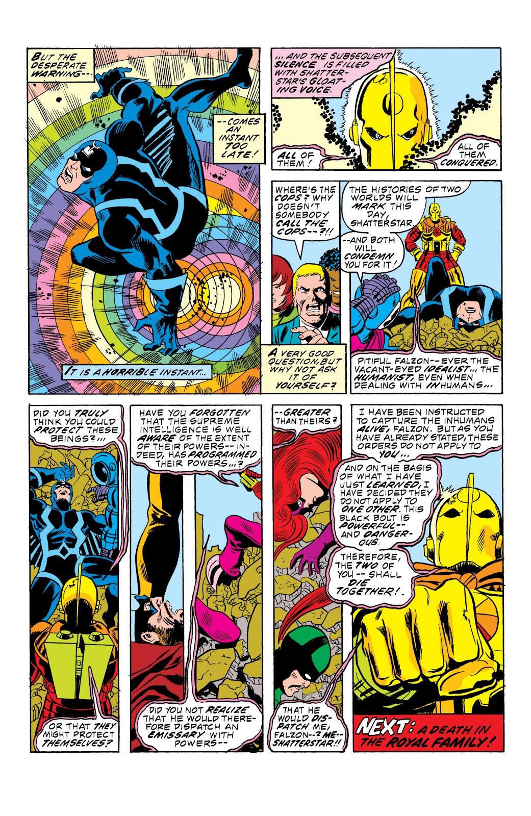 Read online Marvel Masterworks: The Inhumans comic -  Issue # TPB 2 (Part 1) - 63