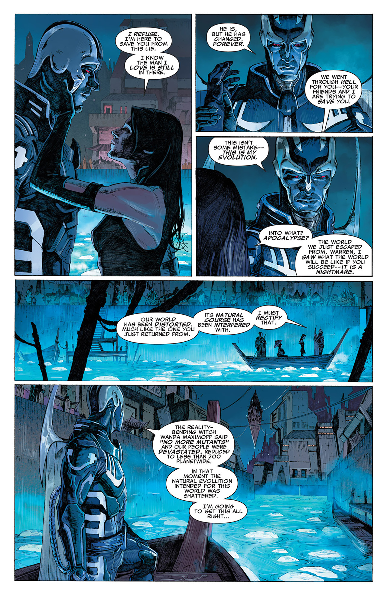 Read online Uncanny X-Force (2010) comic -  Issue #14 - 17