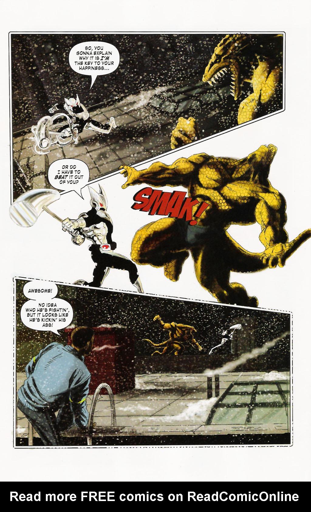 Read online ShadowHawk (2005) comic -  Issue #9 - 16