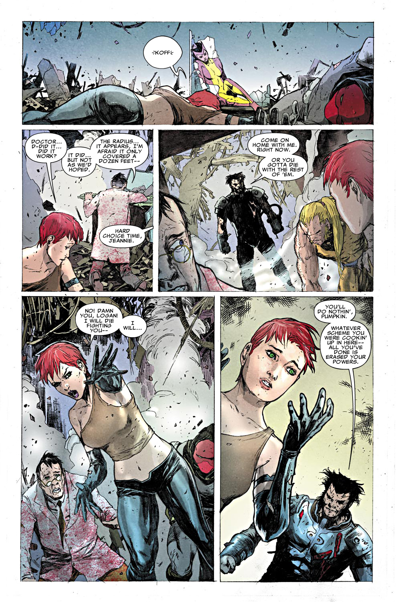 Read online Uncanny X-Force (2010) comic -  Issue #19.1 - 17