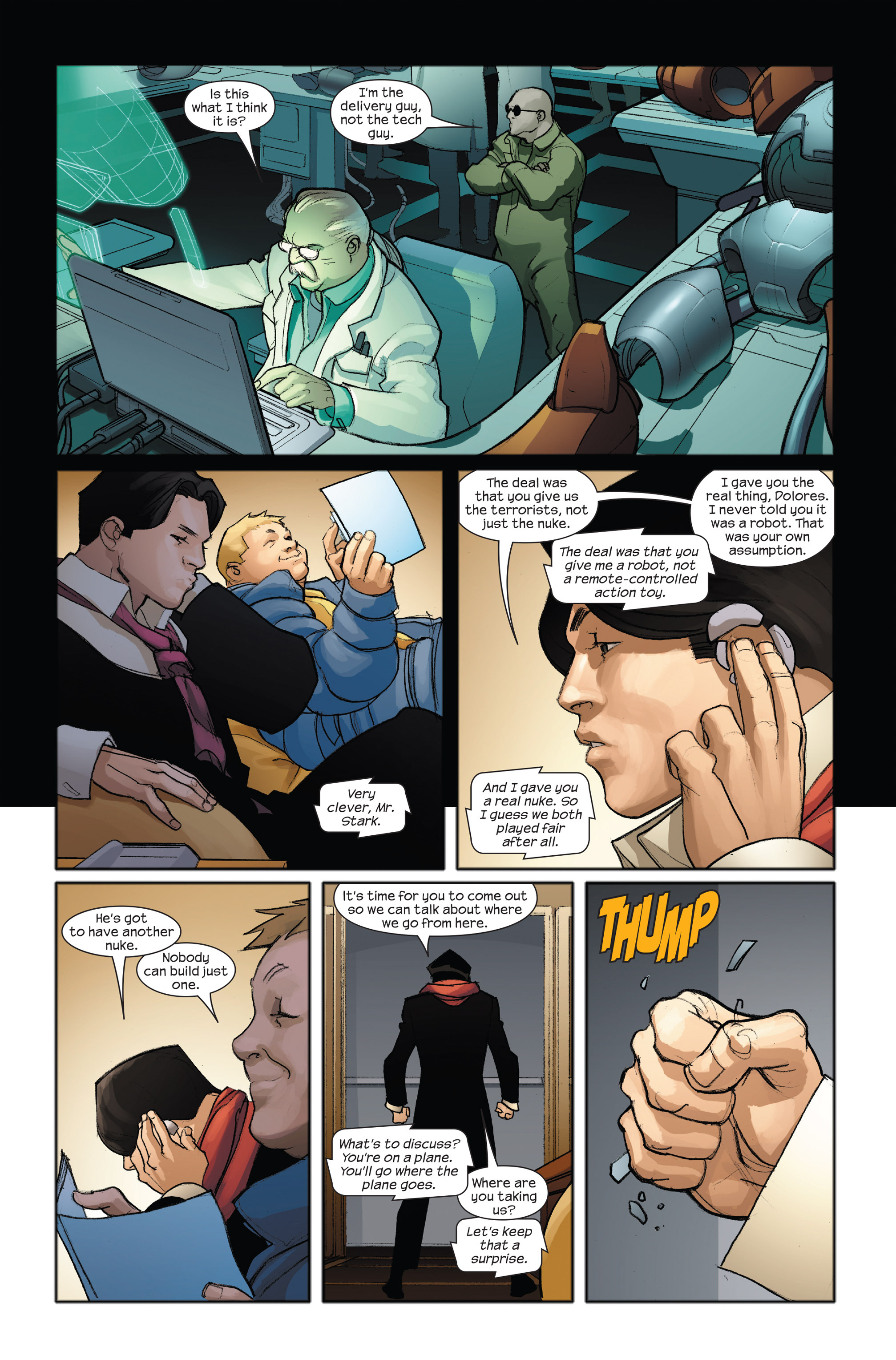 Read online Ultimate Iron Man II comic -  Issue #3 - 20