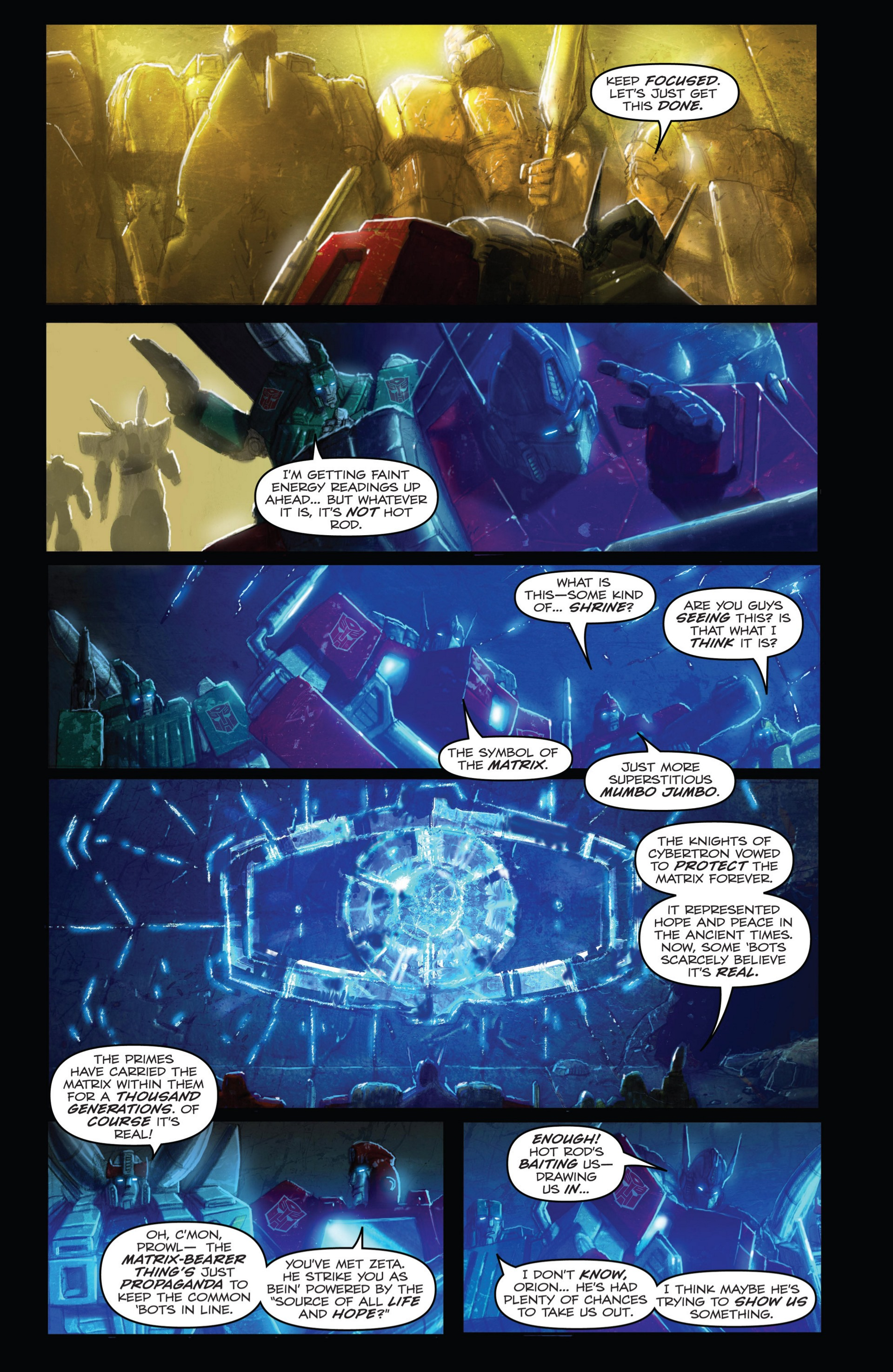 Read online Transformers: Autocracy comic -  Issue # Full - 47