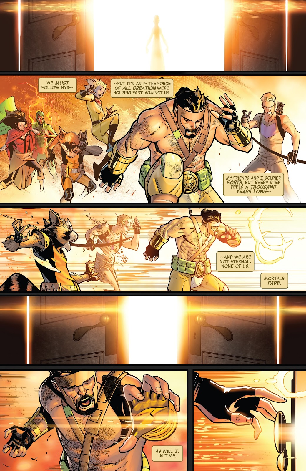 Read online Avengers No Road Home comic -  Issue #9 - 21