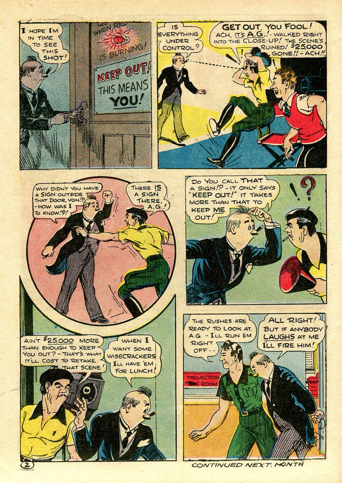 Read online Famous Funnies comic -  Issue #106 - 58