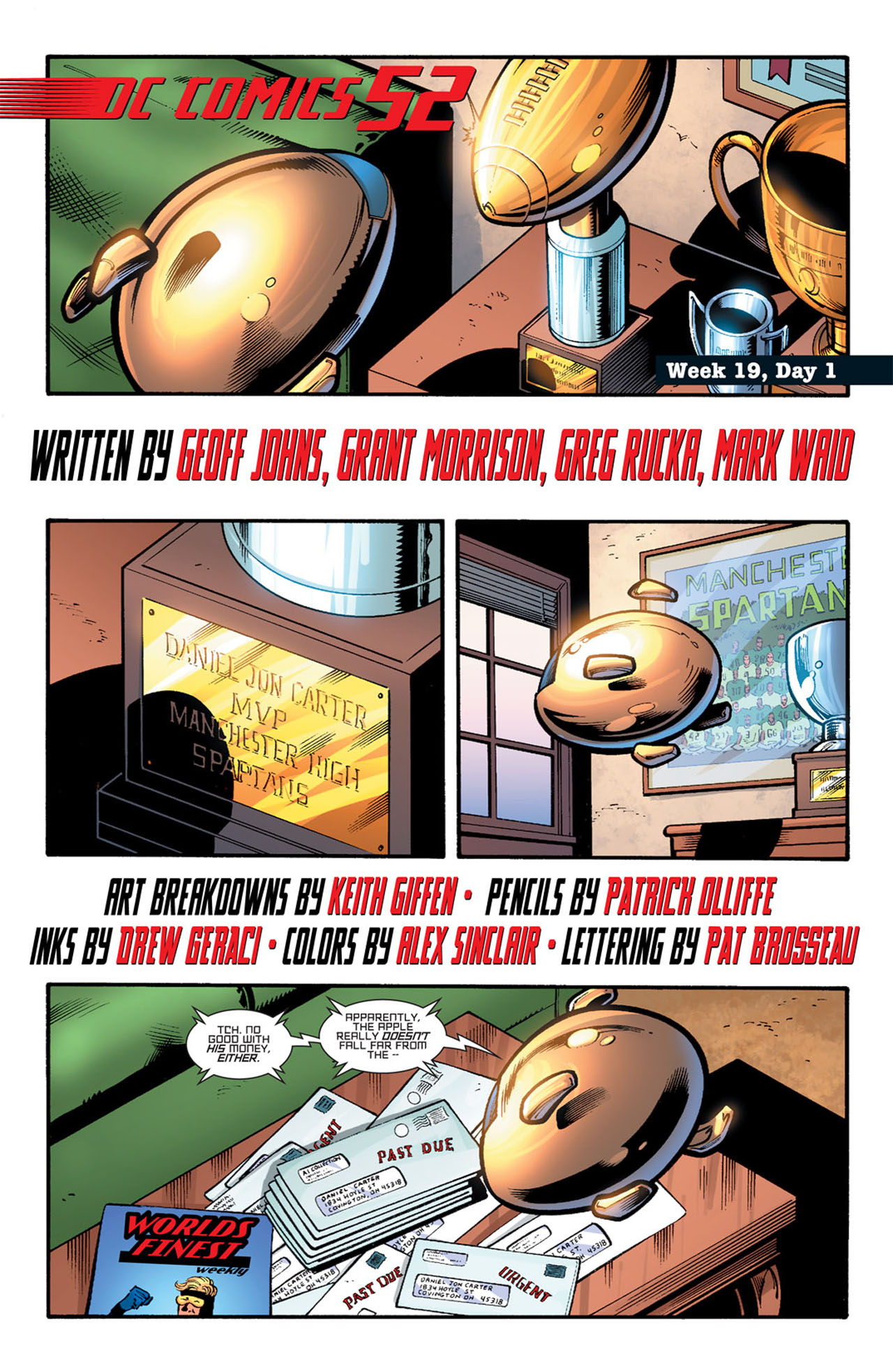 Read online 52 comic -  Issue #19 - 3