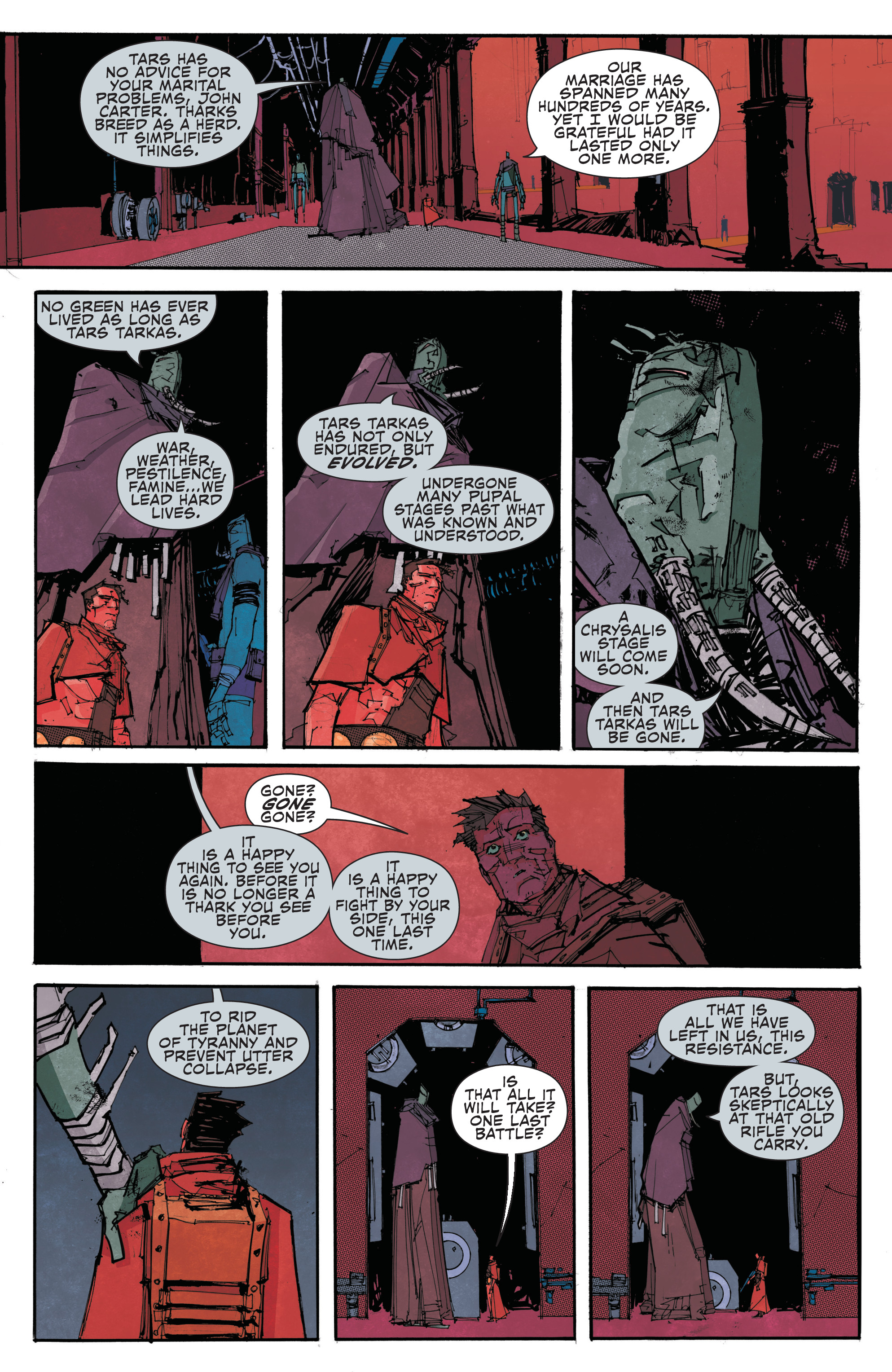 Read online John Carter: The End comic -  Issue #2 - 19