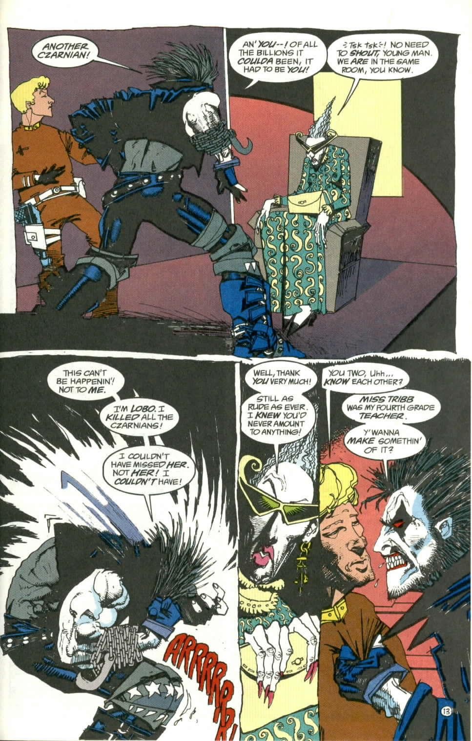 Read online Lobo (1990) comic -  Issue #1 - 14