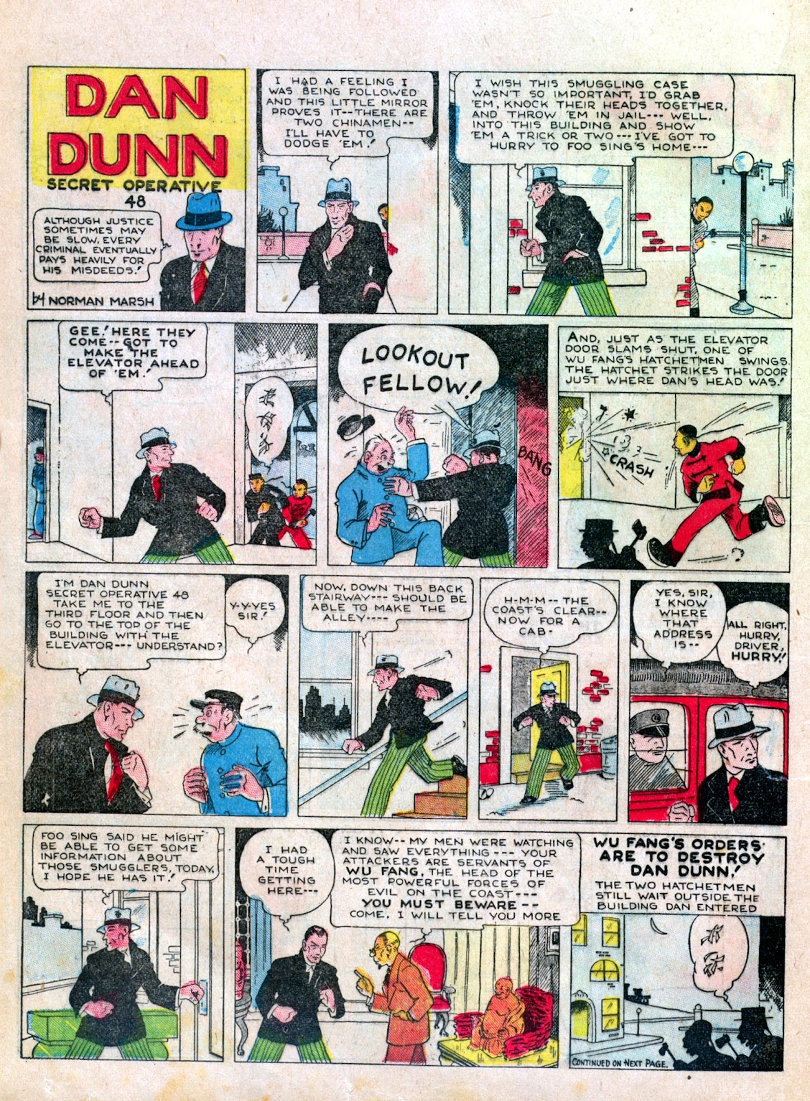 Read online Famous Funnies comic -  Issue #6 - 38