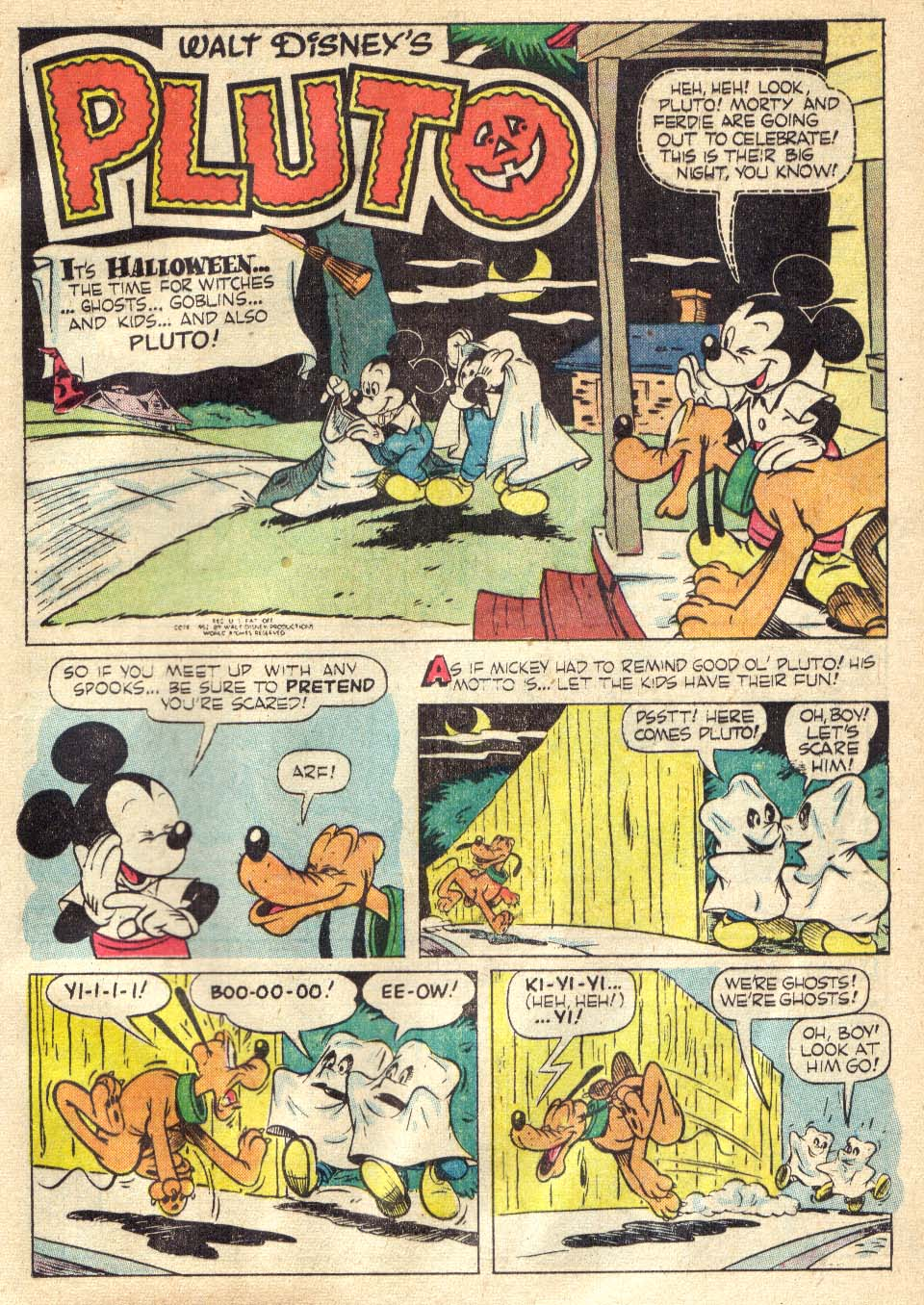 Walt Disney's Comics and Stories issue 146 - Page 21