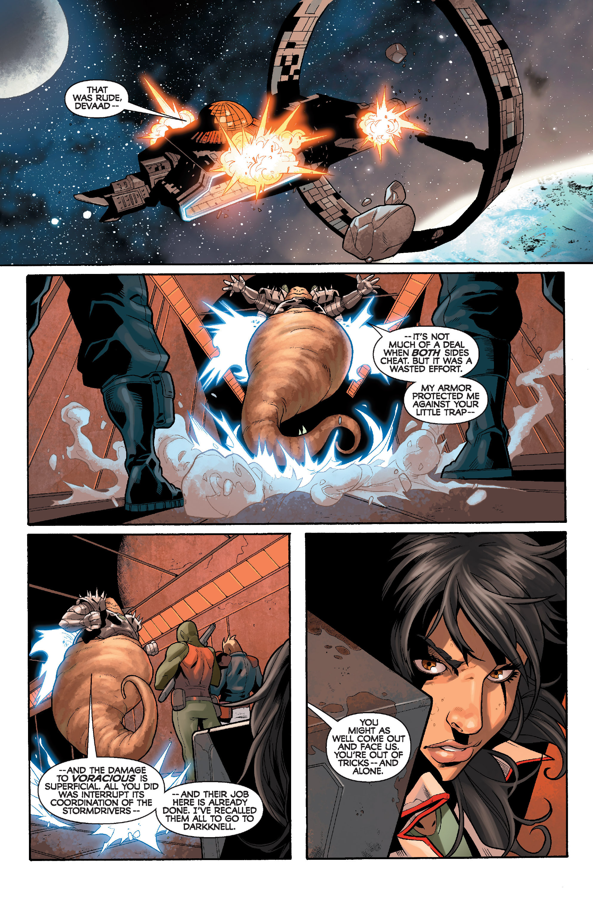 Read online Star Wars: Knight Errant - Deluge comic -  Issue #4 - 18