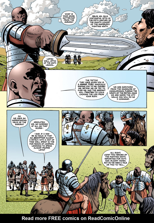 Read online Aquila comic -  Issue #1 - 25