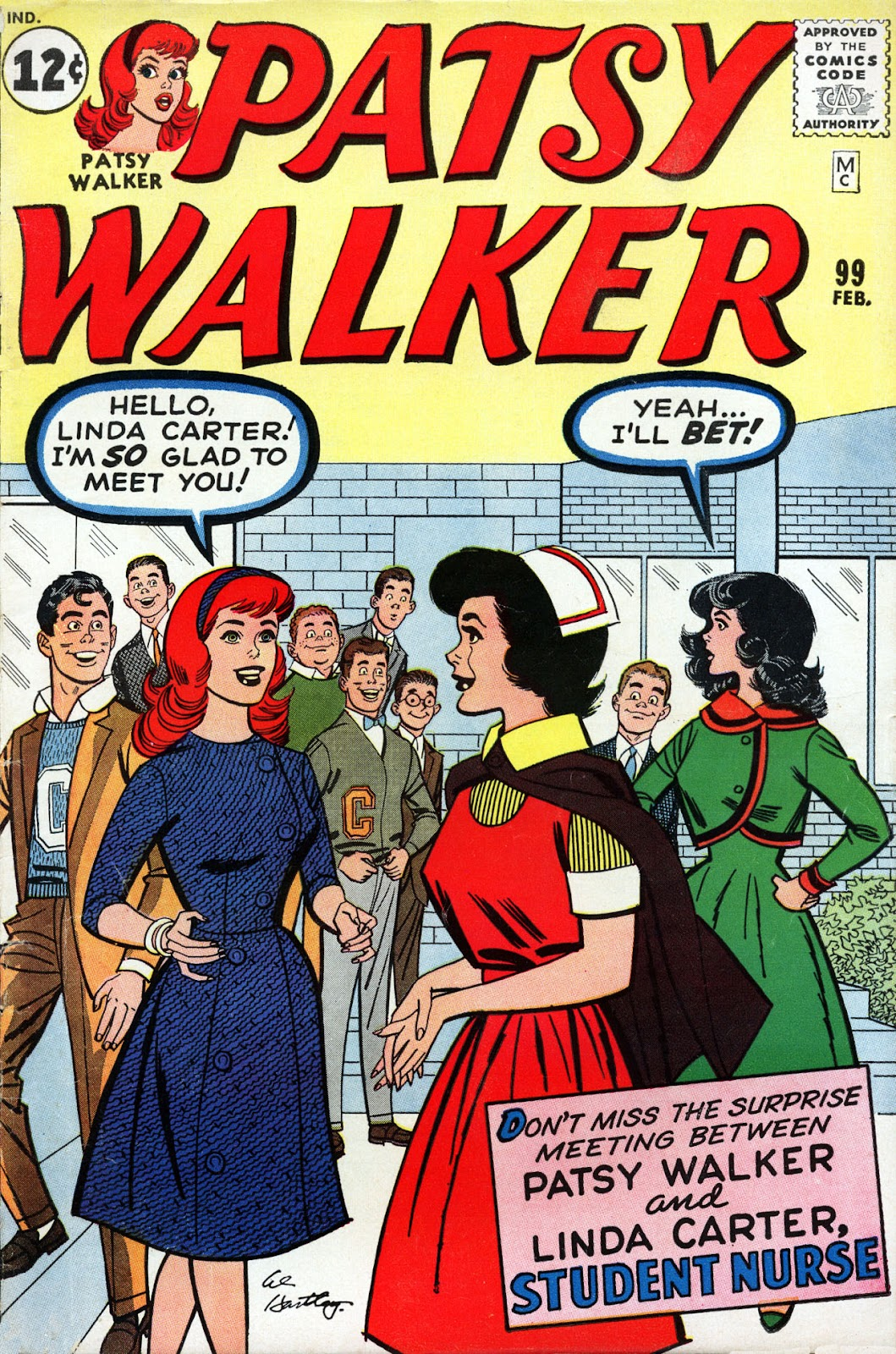 Patsy Walker 99 Page 1