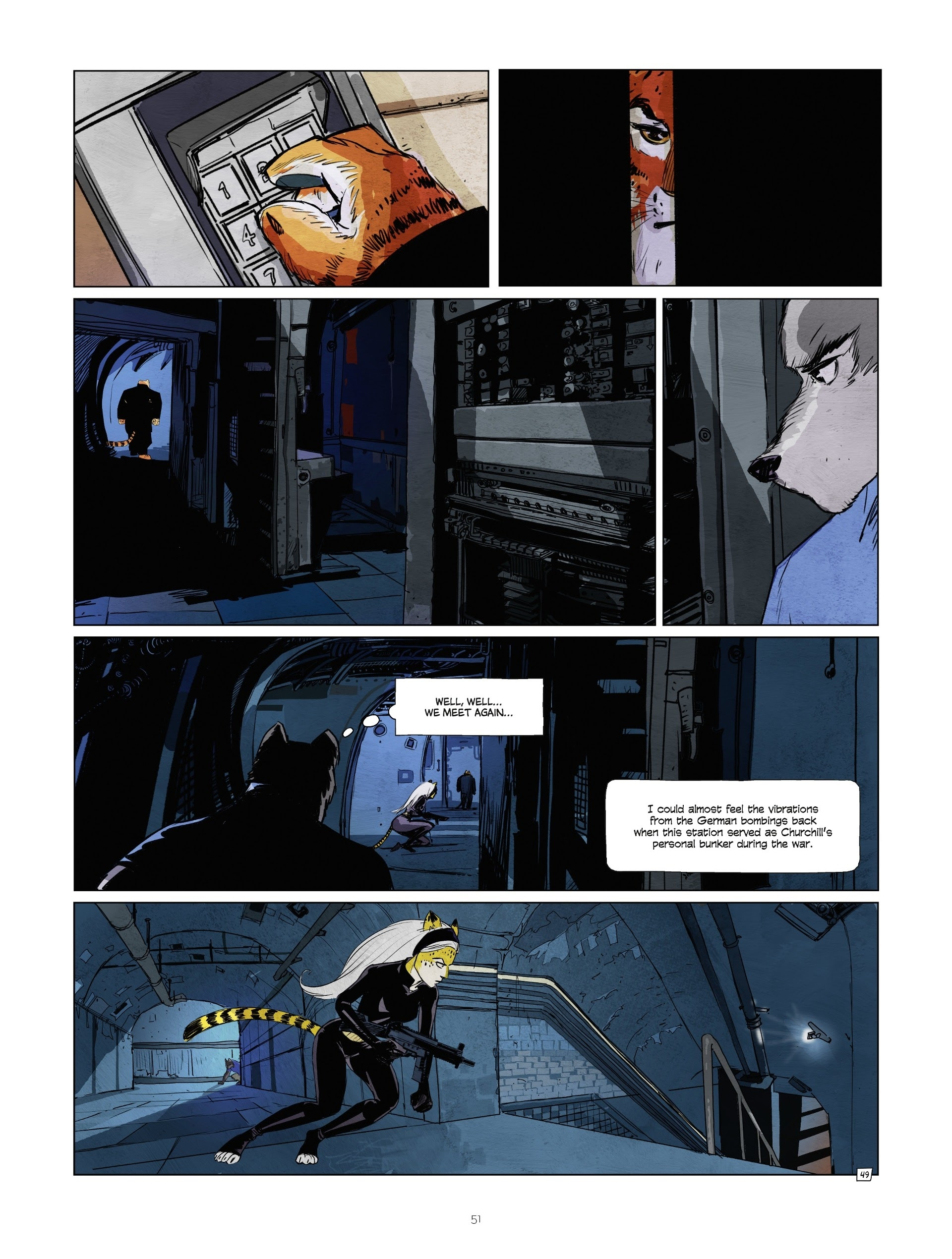 Read online Jack Wolfgang comic -  Issue #3 - 53