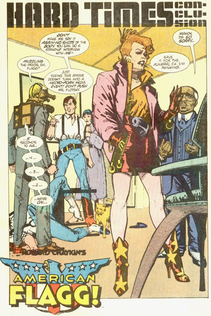 Read online American Flagg! comic -  Issue #3 - 2