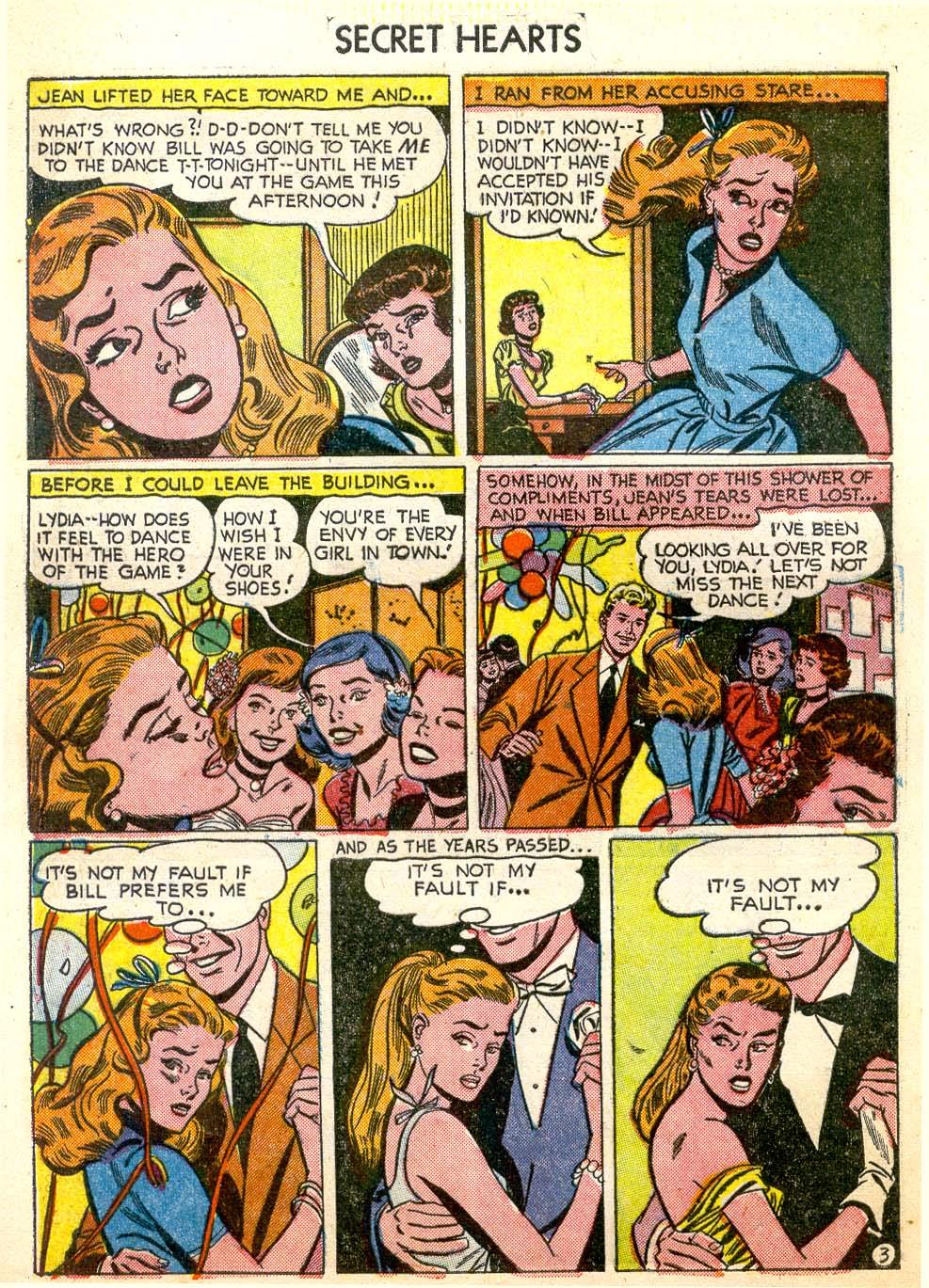 Read online Secret Hearts comic -  Issue #26 - 28
