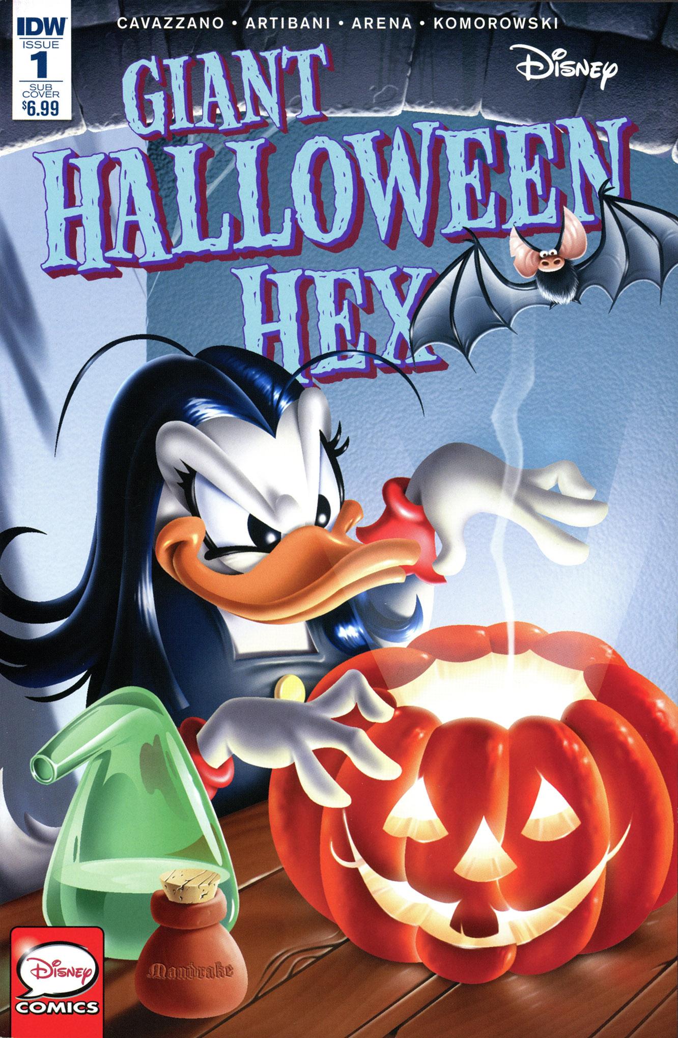 Disney Giant Halloween Hex Full Page 1