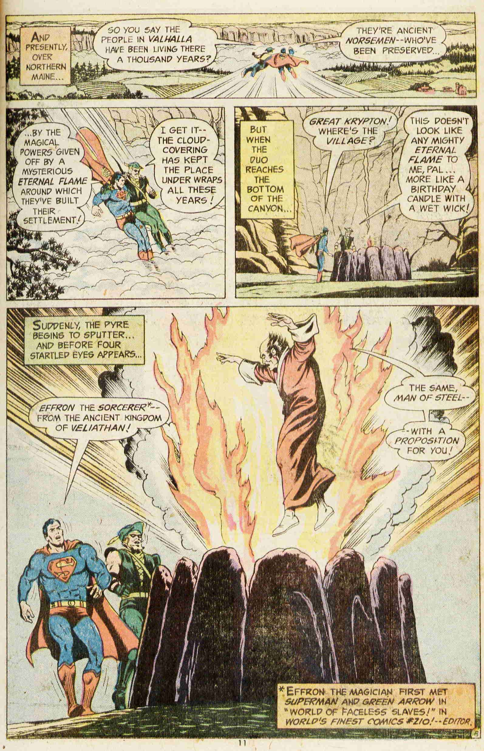 Read online Action Comics (1938) comic -  Issue #437 - 10