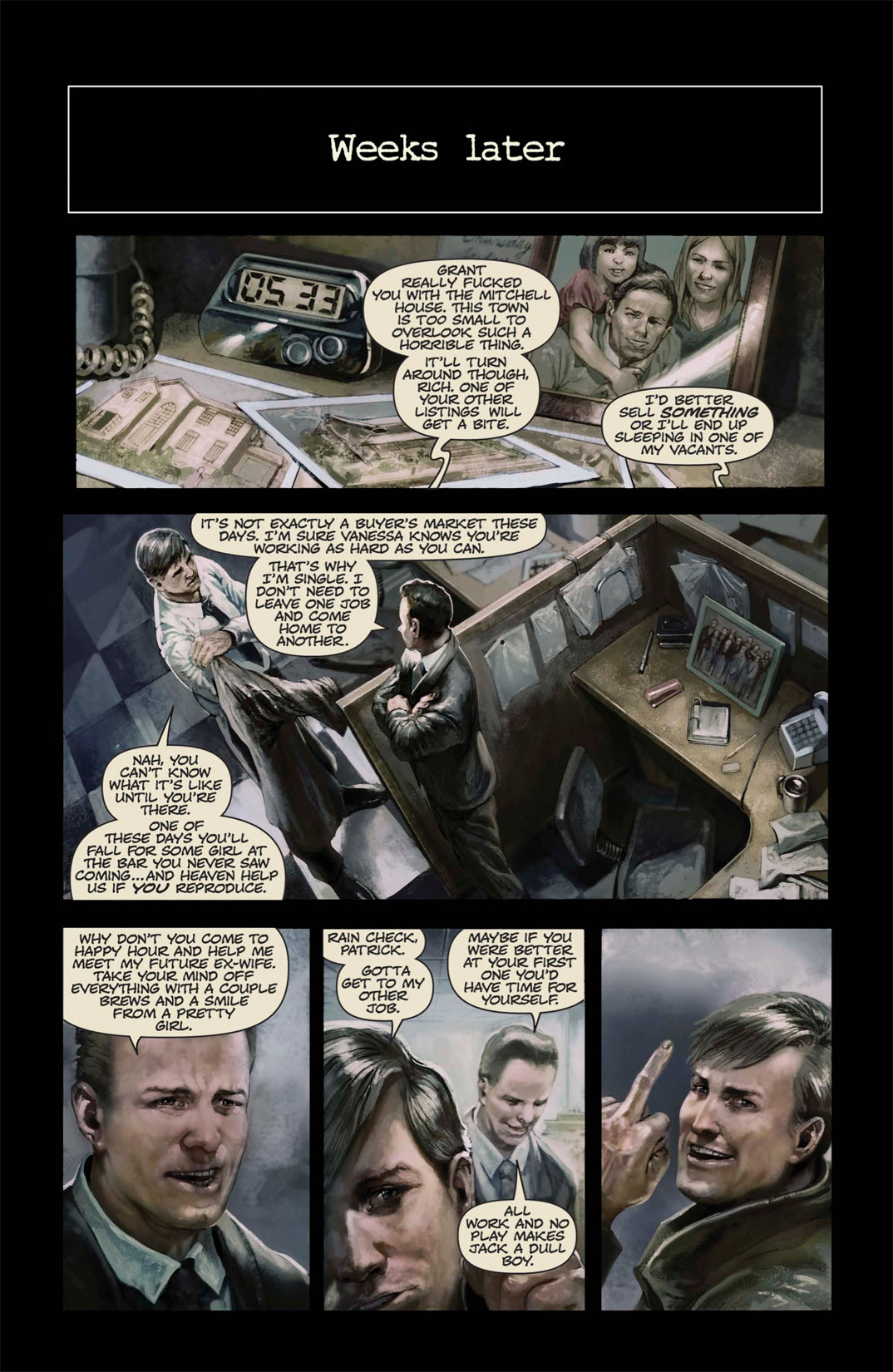 Read online Abattoir comic -  Issue #1 - 11
