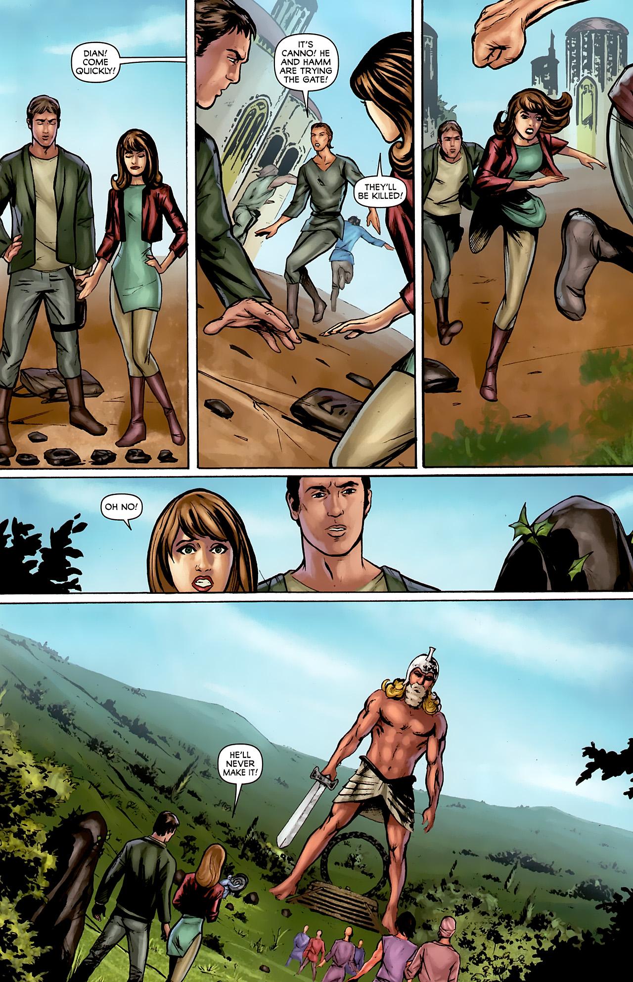 Read online Stargate: Daniel Jackson comic -  Issue #2 - 11