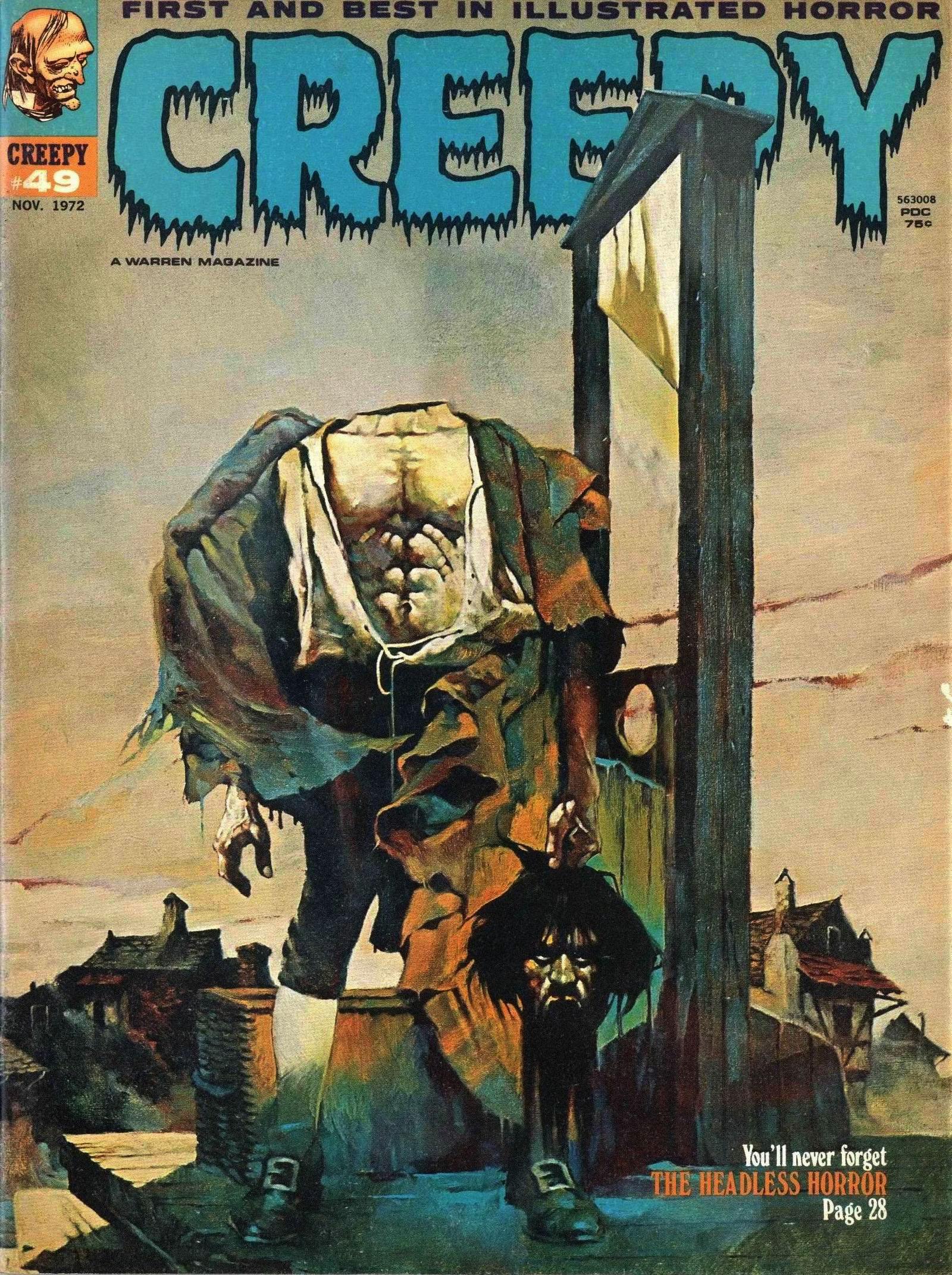 Creepy (1964) 49 Page 1